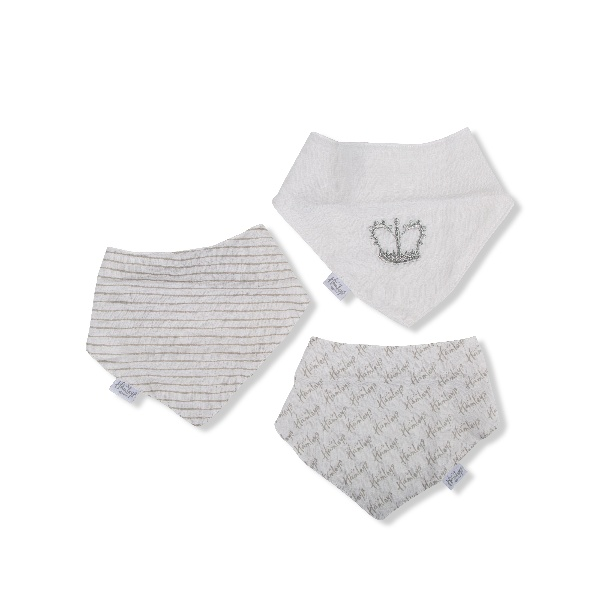Hamleys Royal Baby Dribble Bibs Three Pack