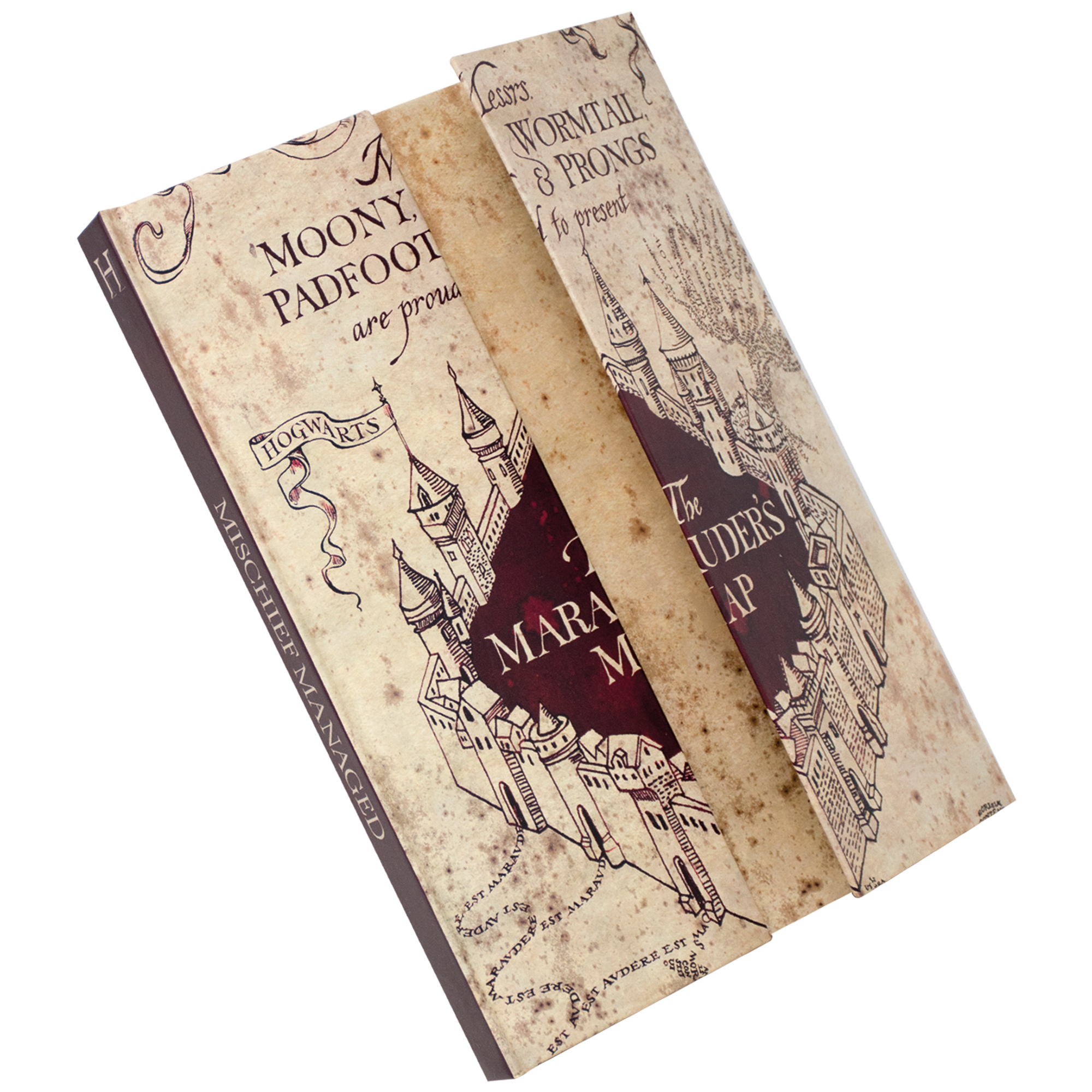 Harry Potter A5 Marauder's Map Notebook