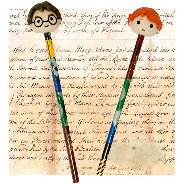 Harry Potter 3D Pencil & Eraser Set