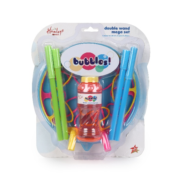 Hamleys Fantastic Giant Bubble Wand 2pk