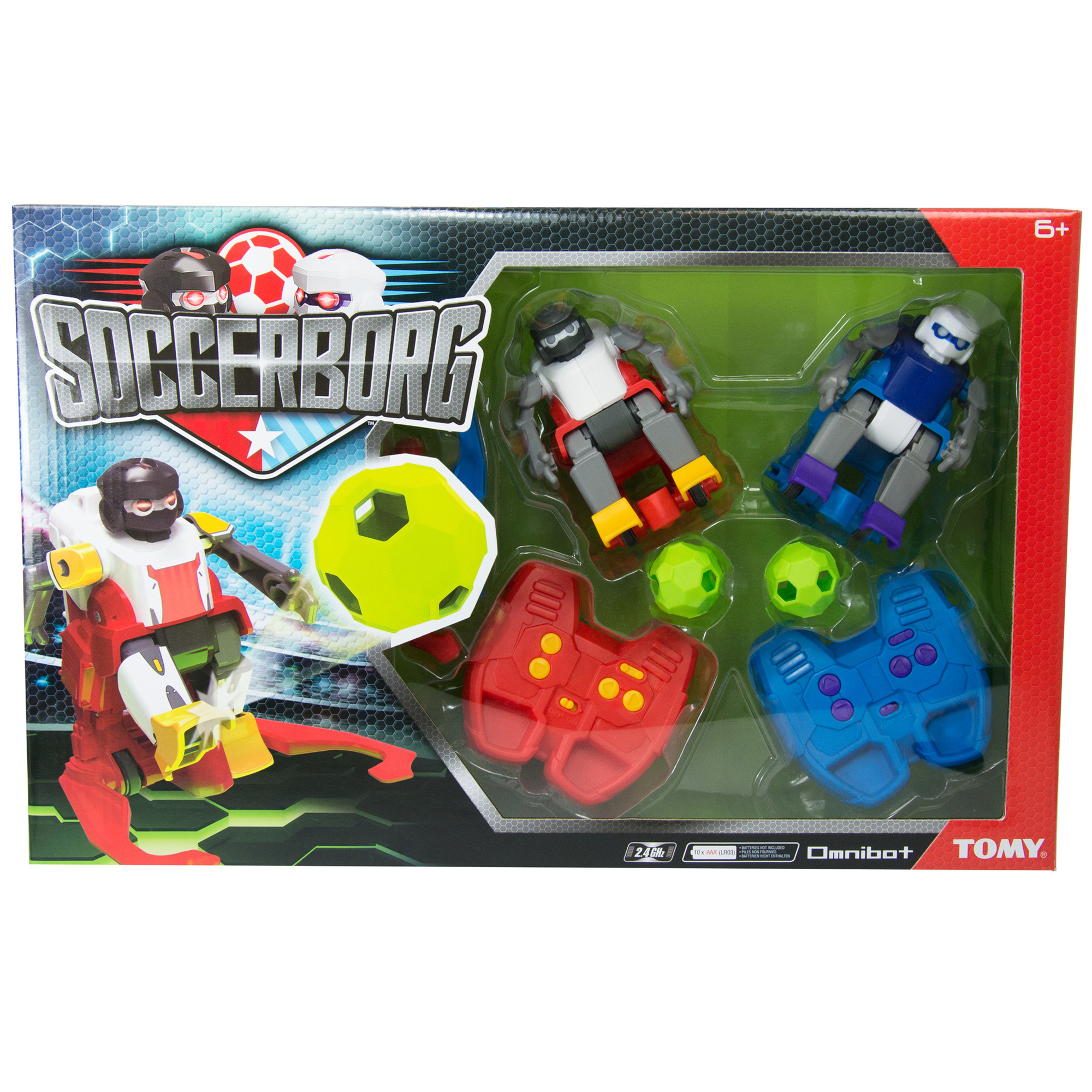 Tomy Soccerborg RC Football Game