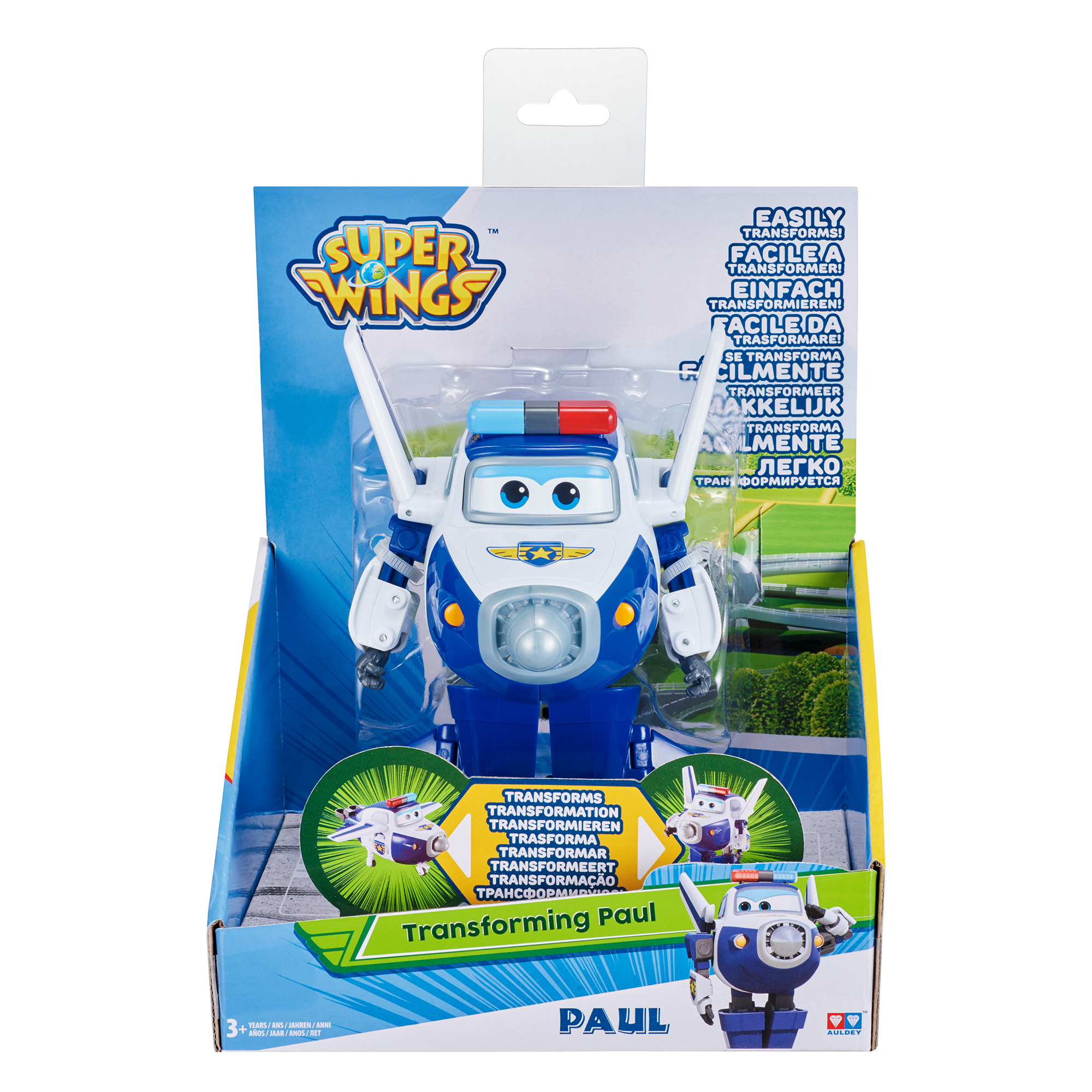 Super Wings Transforming Paul