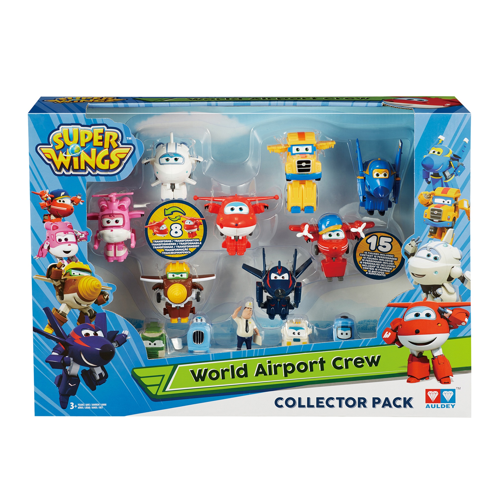 Super Wings World Airport New Crew Collector Pack Assortment