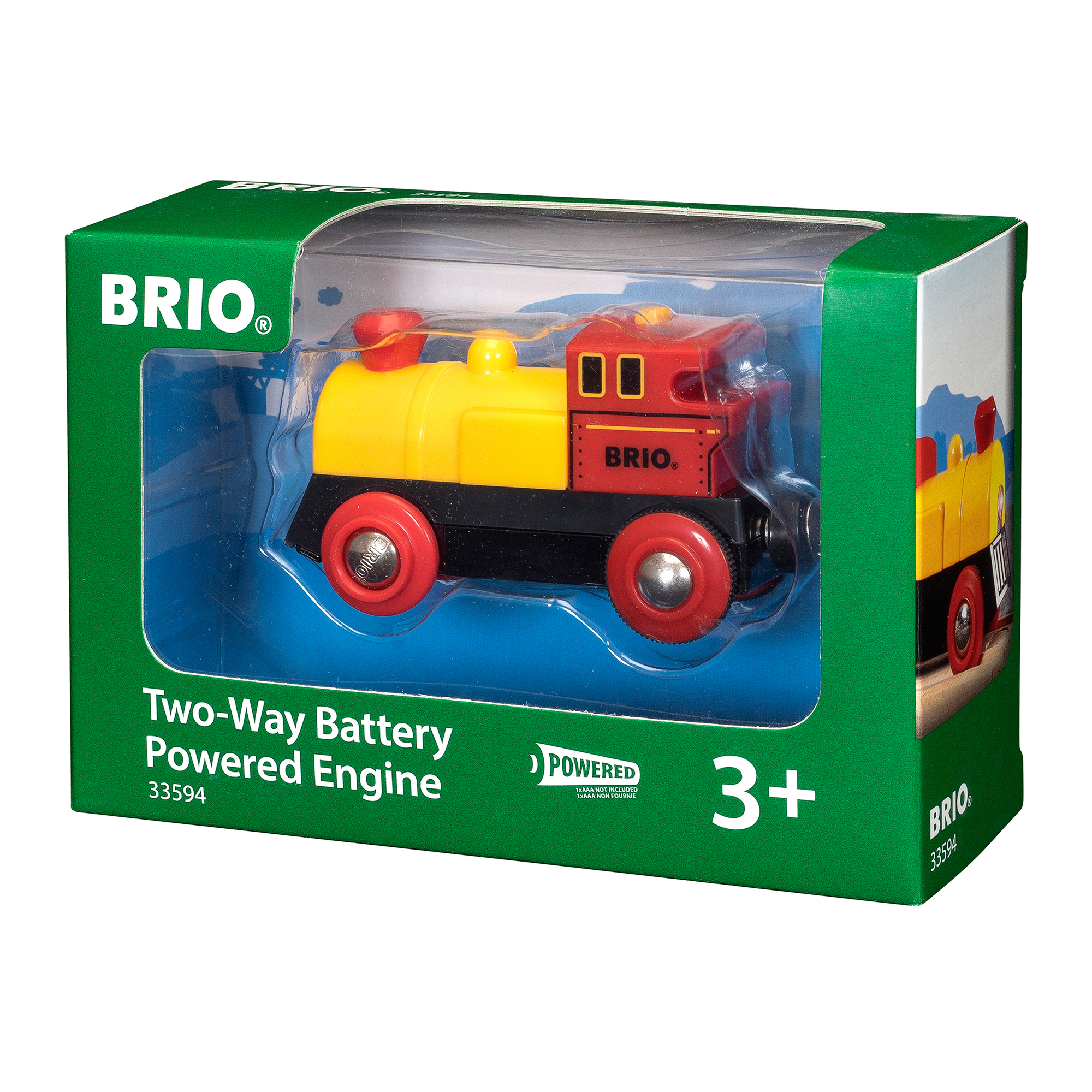 BRIO World Two Way Battery Powered Engine