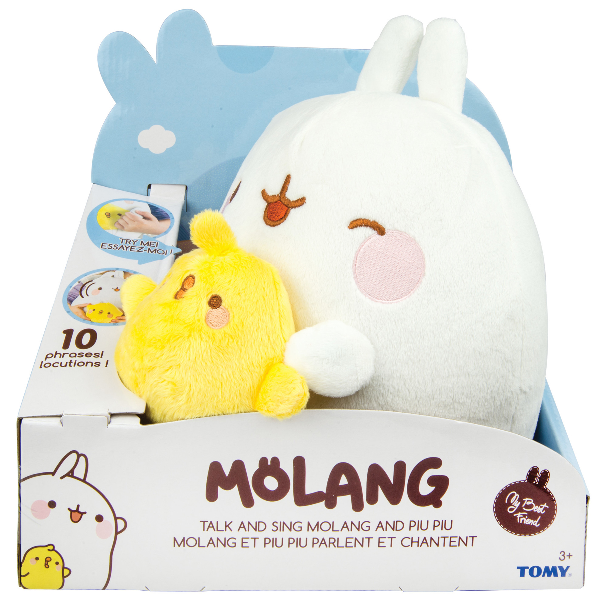 Molang Bumble Bee Soft Toy