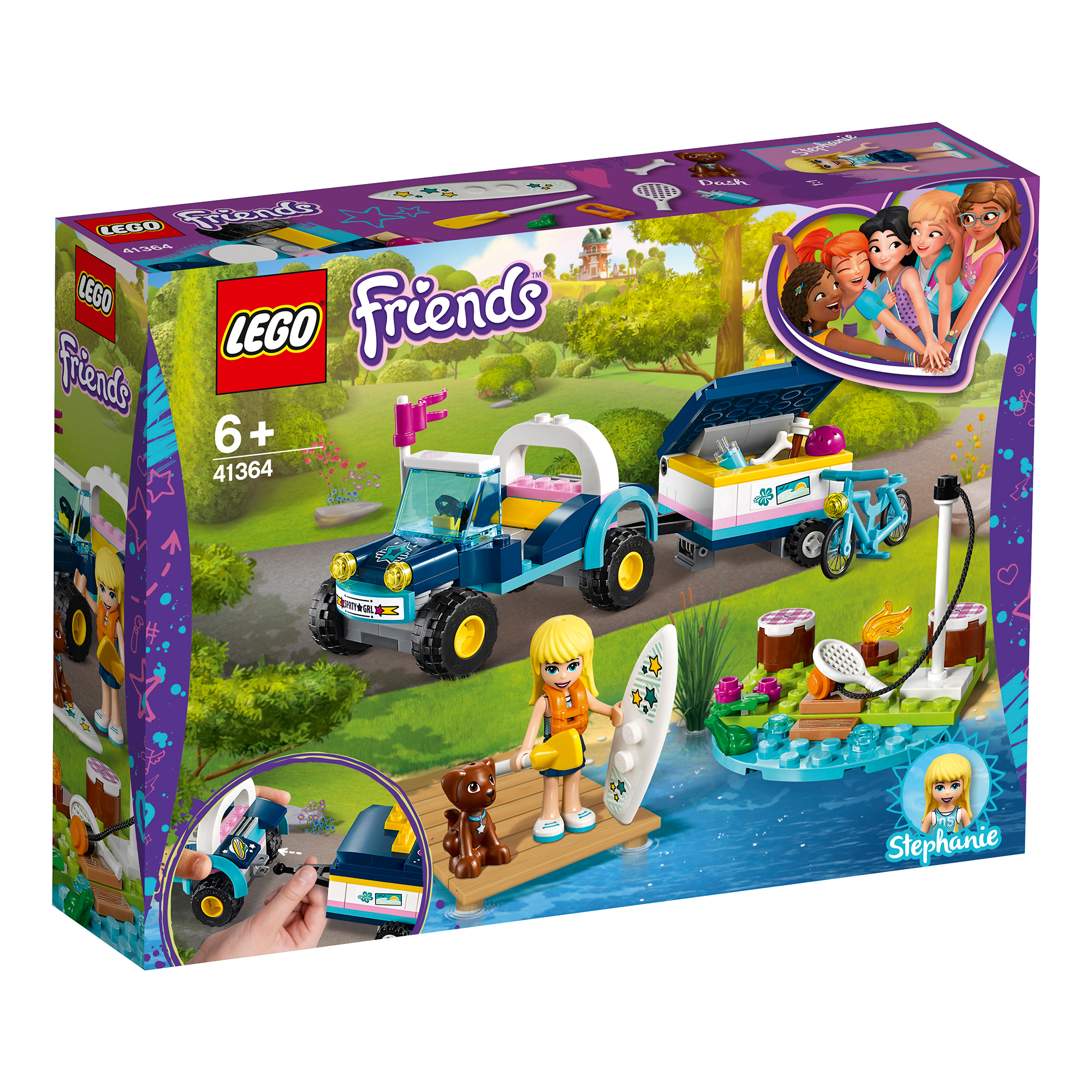 LEGO Friends Stephanie's Buggy & Trailer 41364