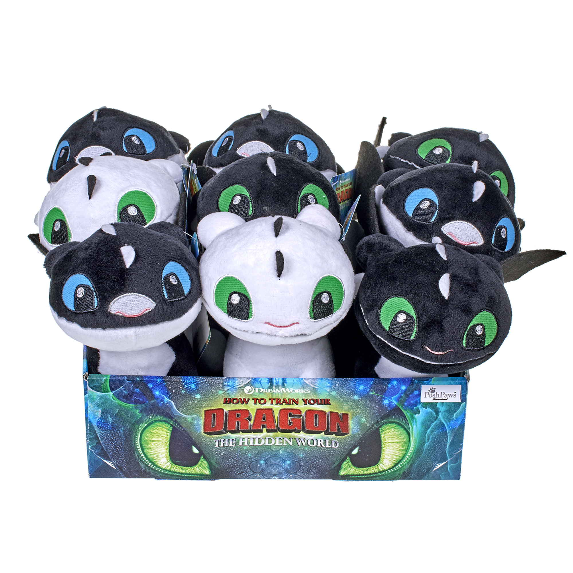 How to Train Your Dragon Night Lights Soft Toys Assortment