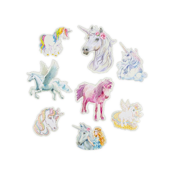 Glow Stars & Unicorn Stickers