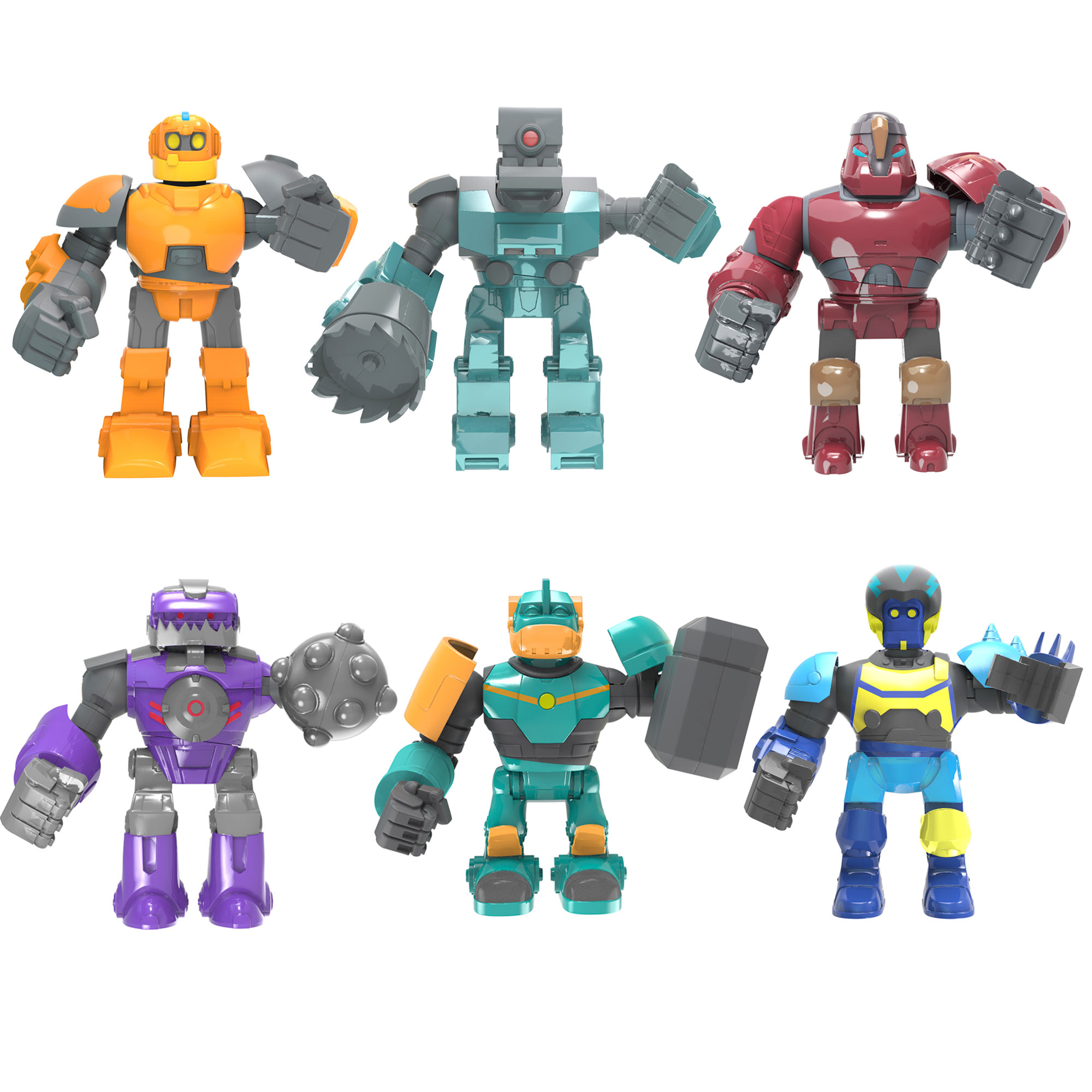 Robozuna 12.5cm Battling Figures Assortment