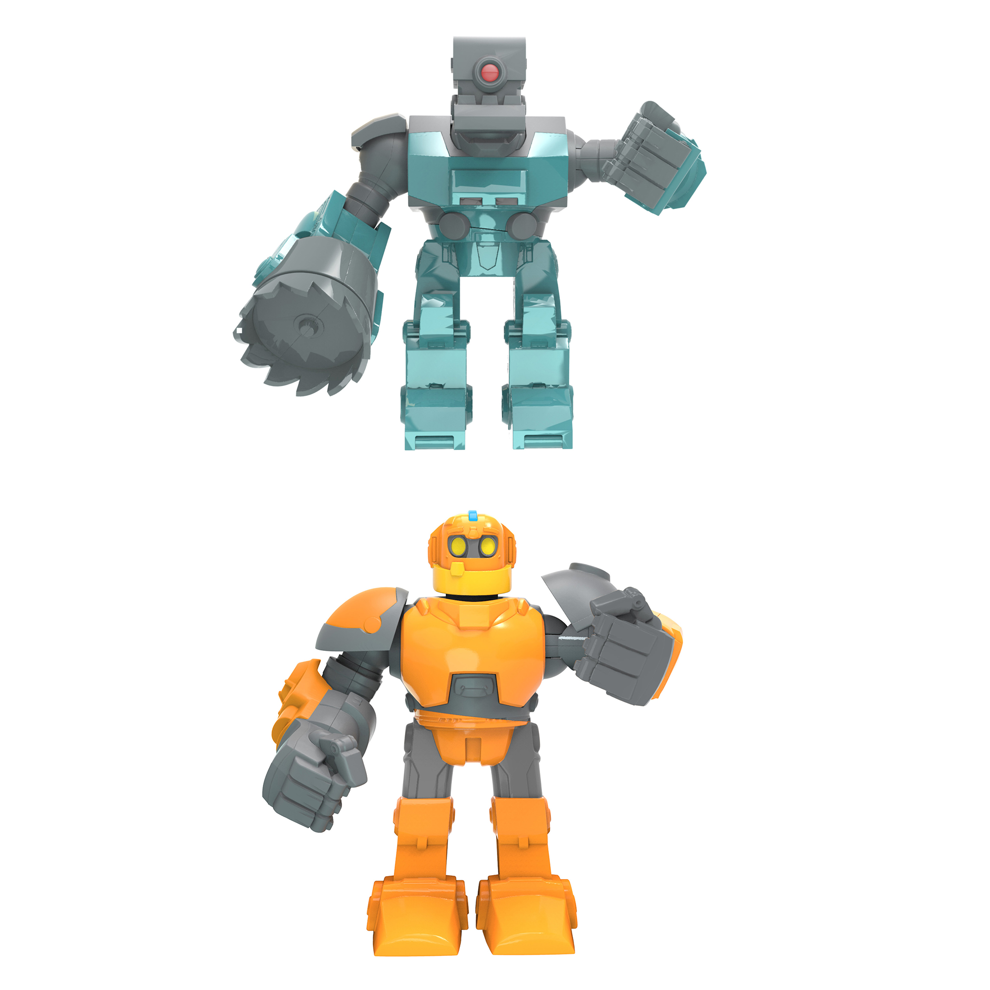Robozuna 12.5cm Battling Figure Dual Pack Assortment