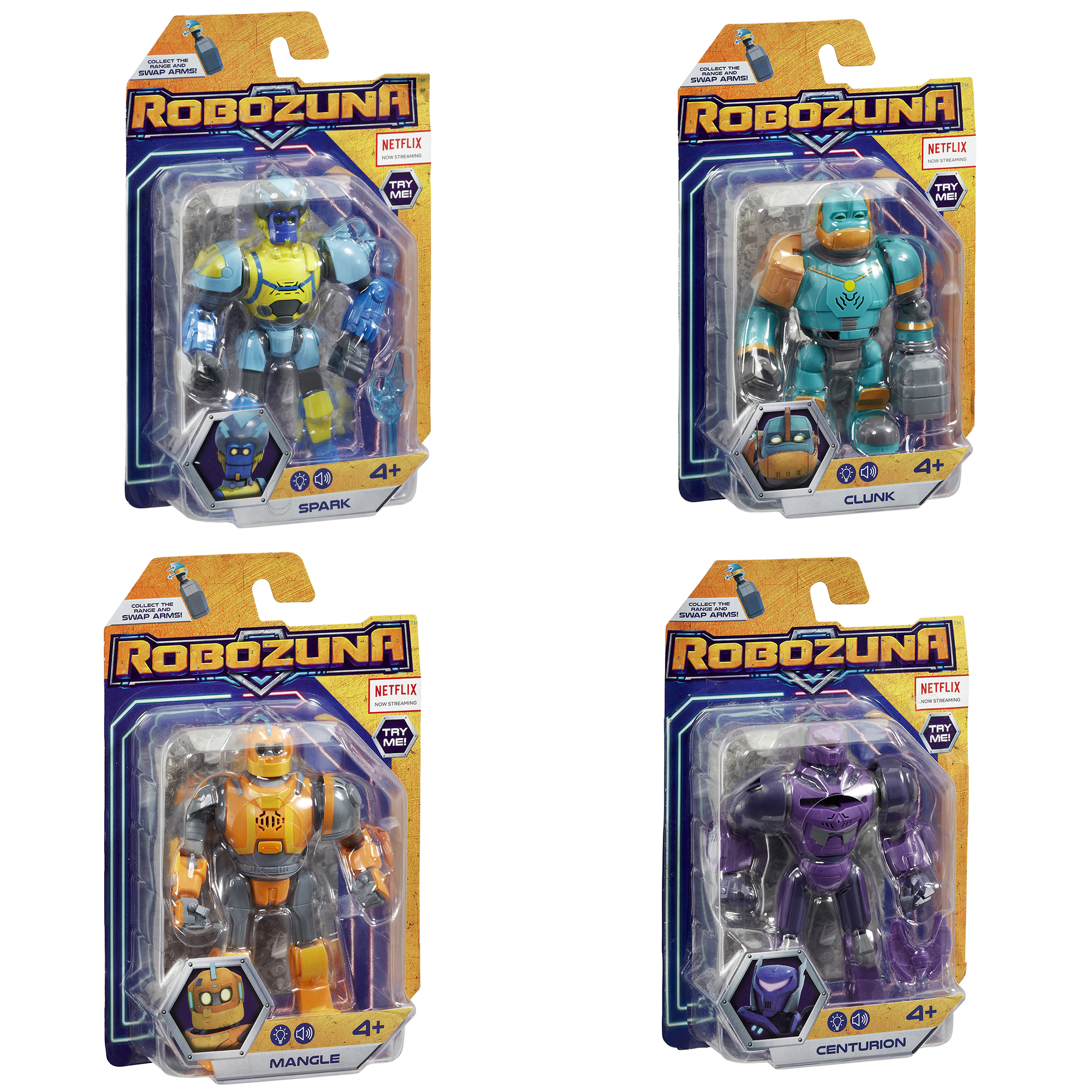 Robozuna 12.5cm Action Figures Assortment