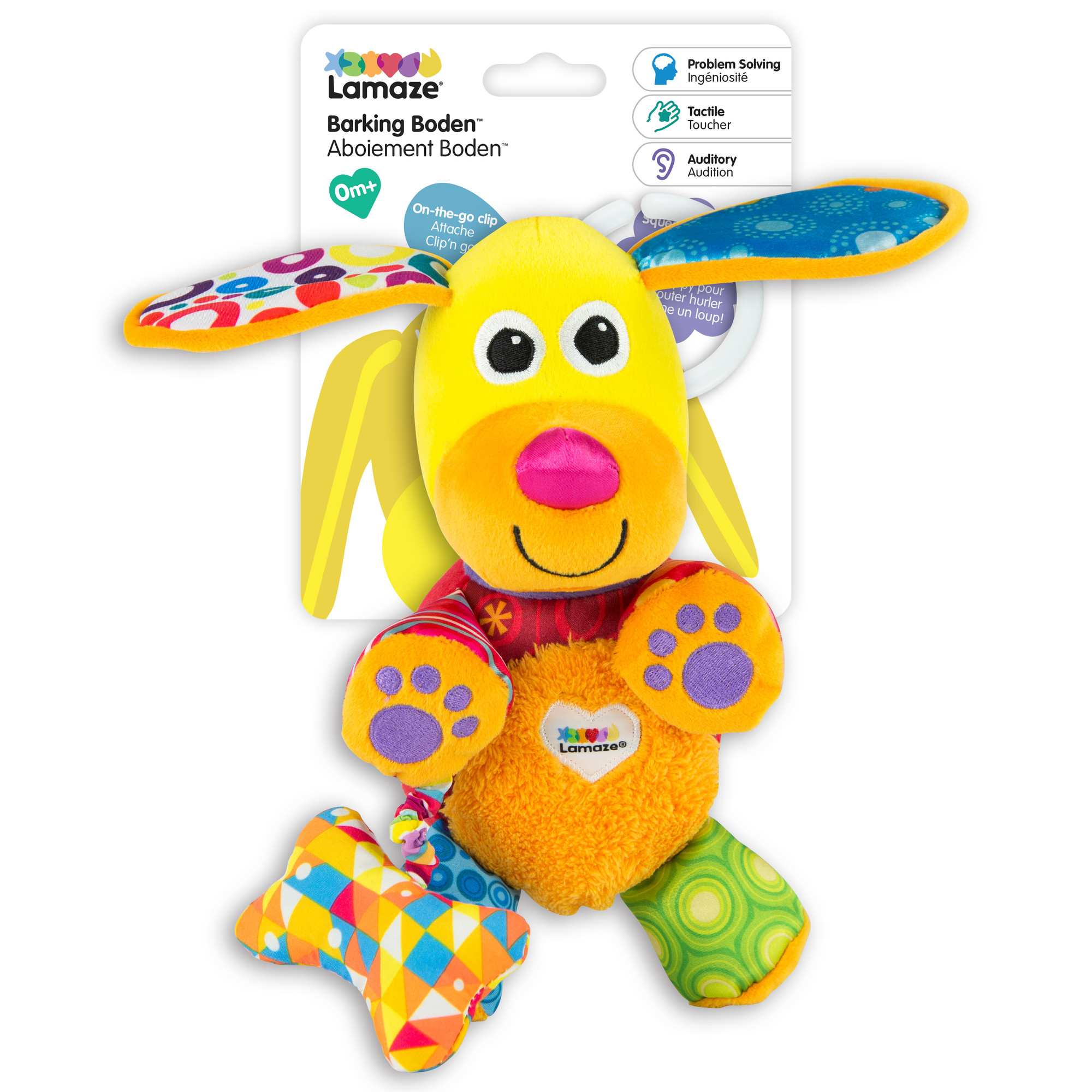 Lamaze Barking Boden Soft Toy