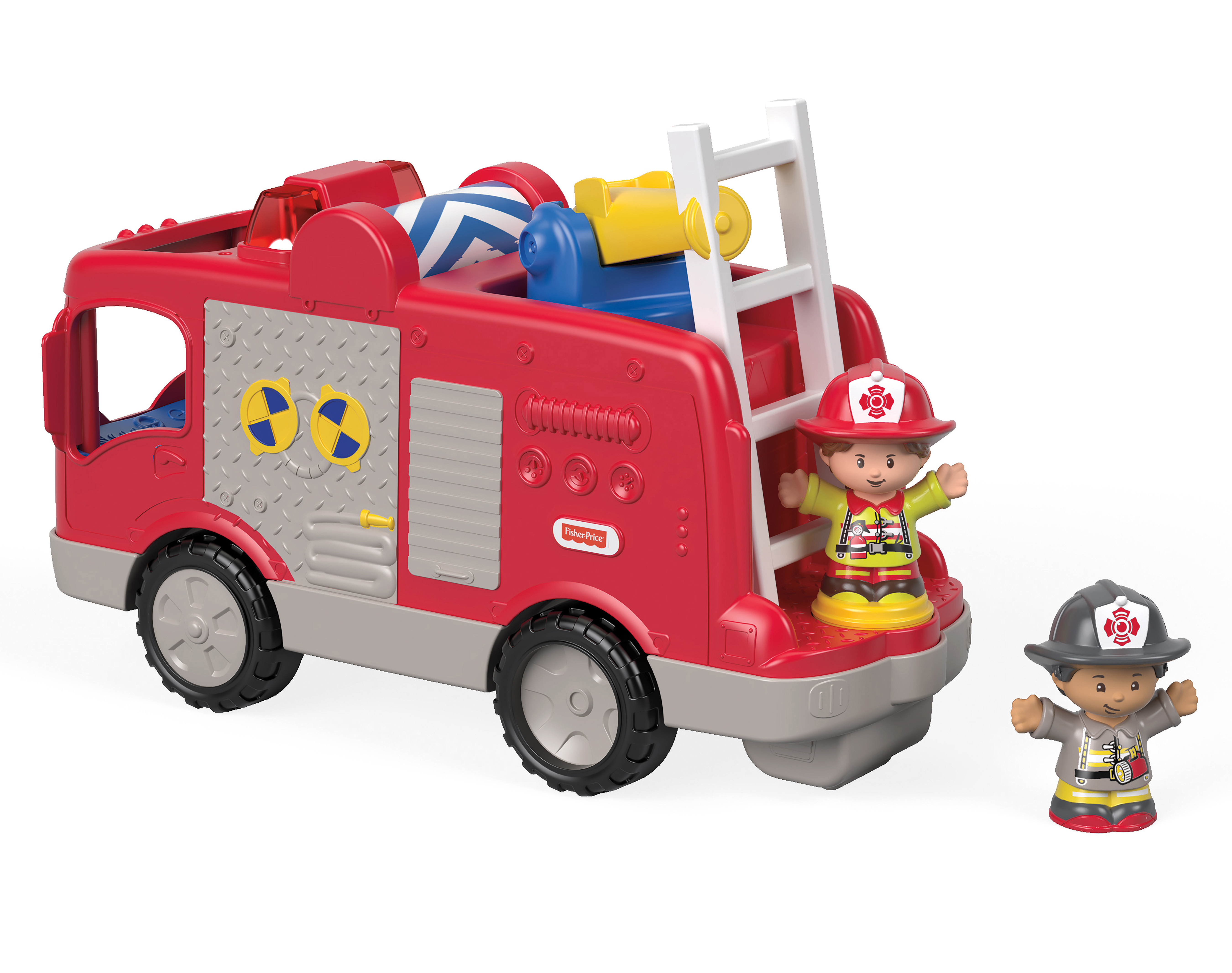 Little People Helping Others Fire Truck