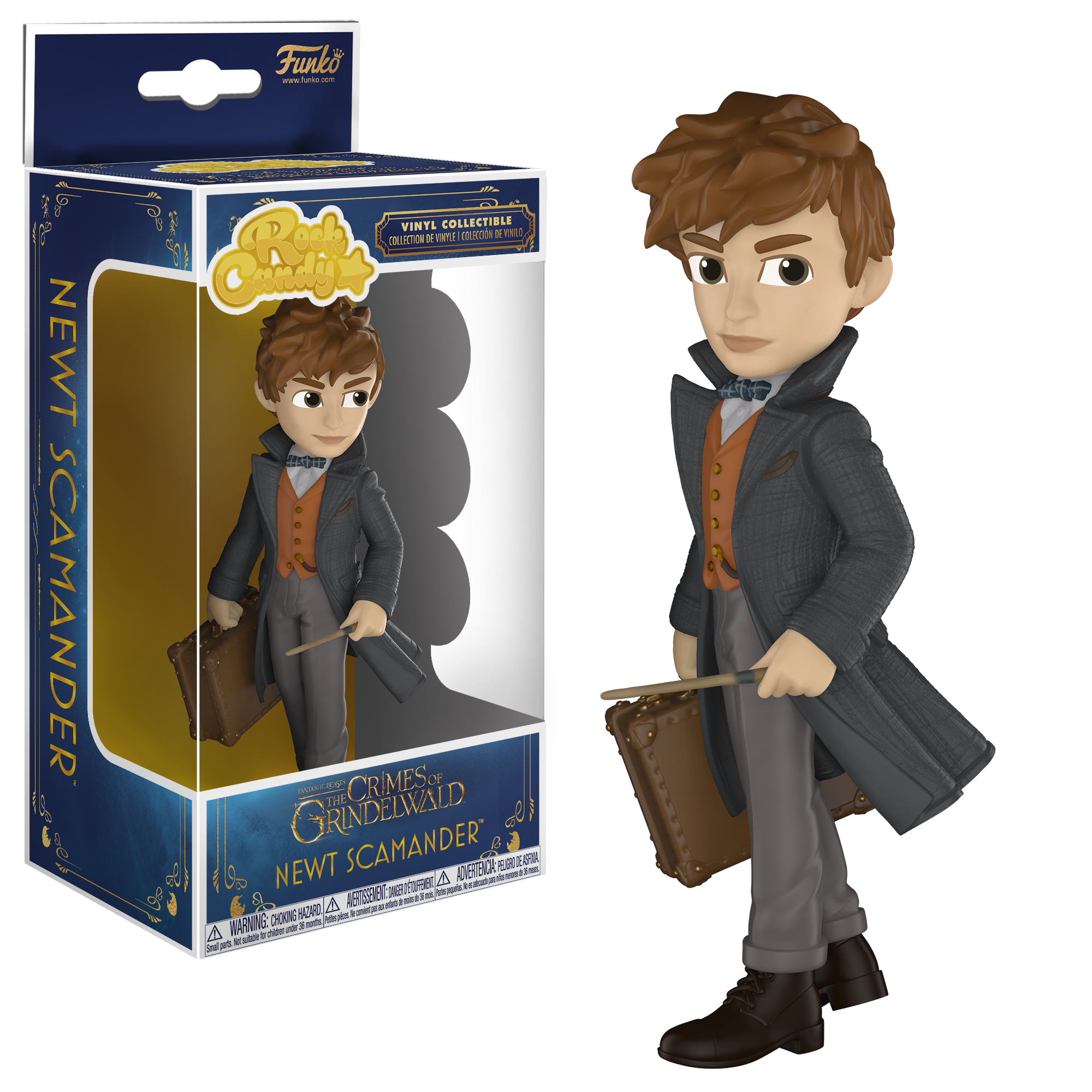 Fantastic Beasts Newt Collectible Figure