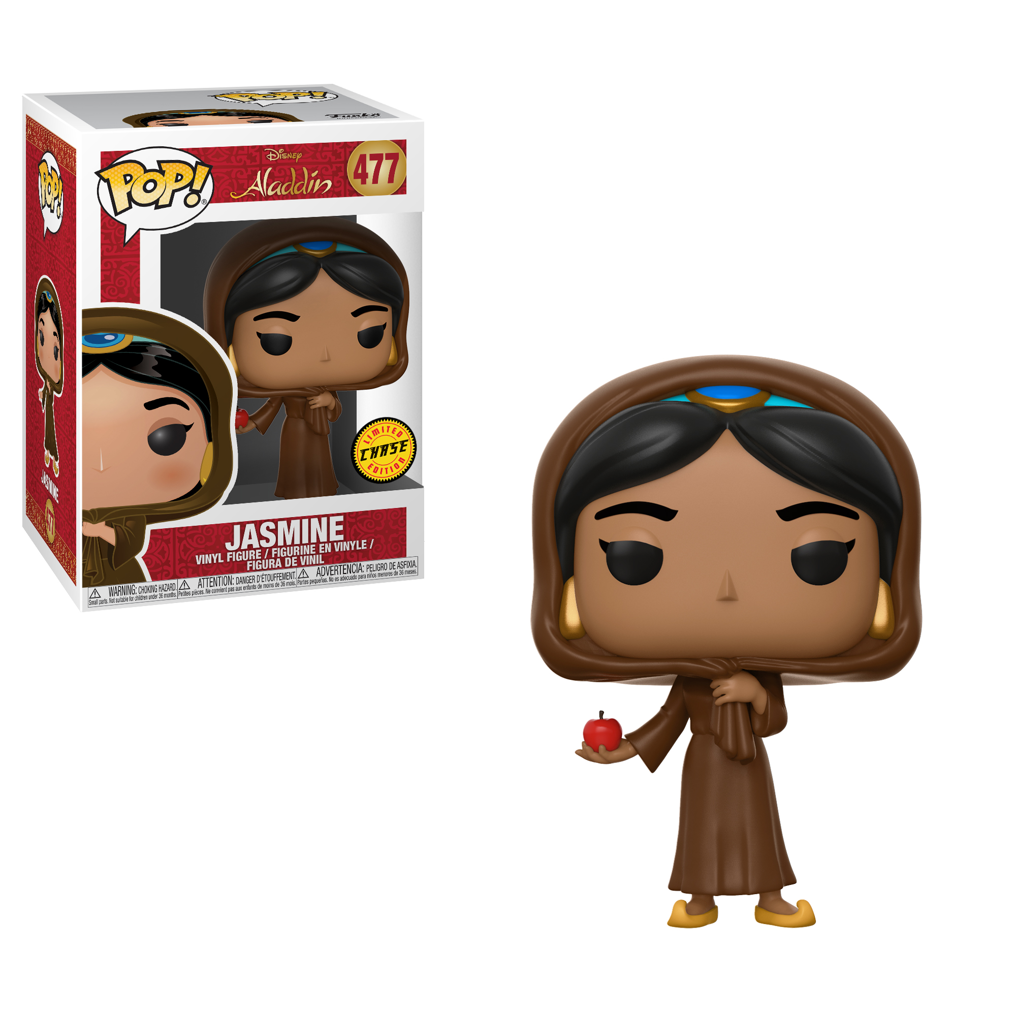 POP Disney: Aladdin - Jasmine in Disguise w/Chase