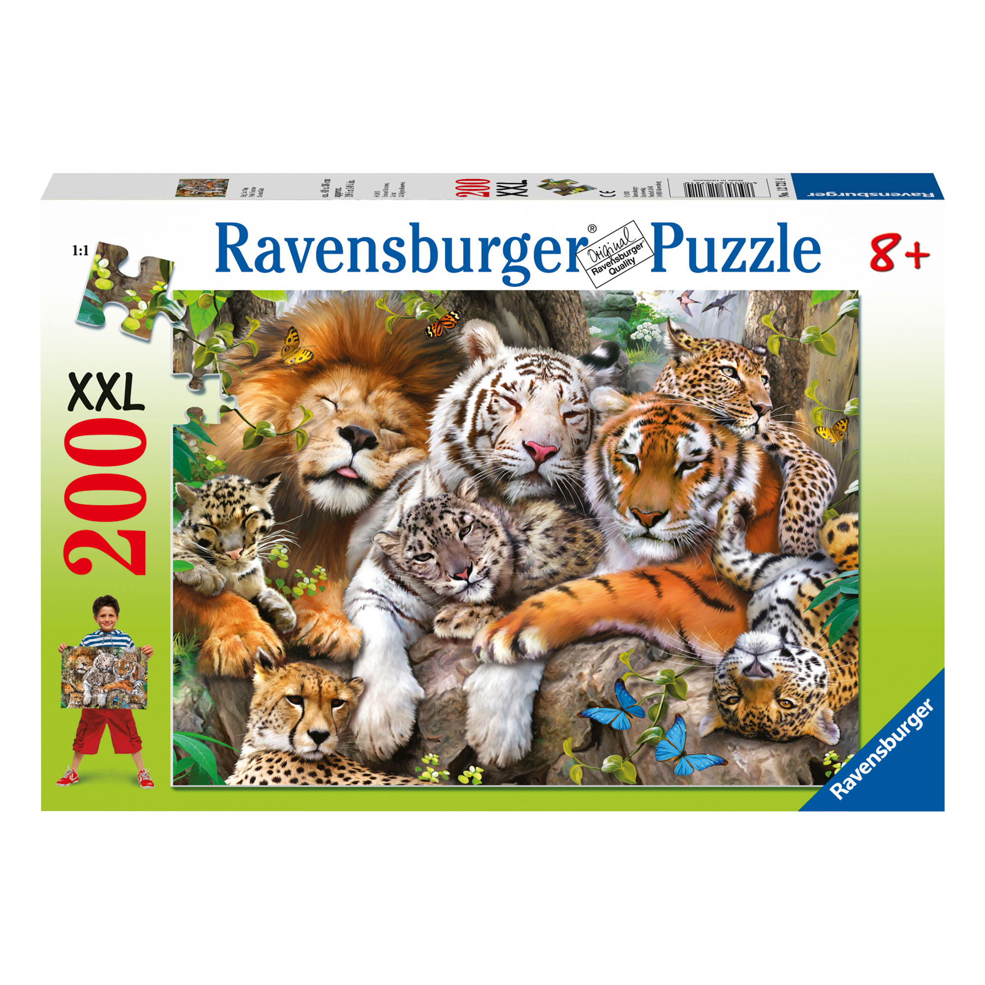 Ravensburger Big Cat Nap 200 Piece XXL Puzzle