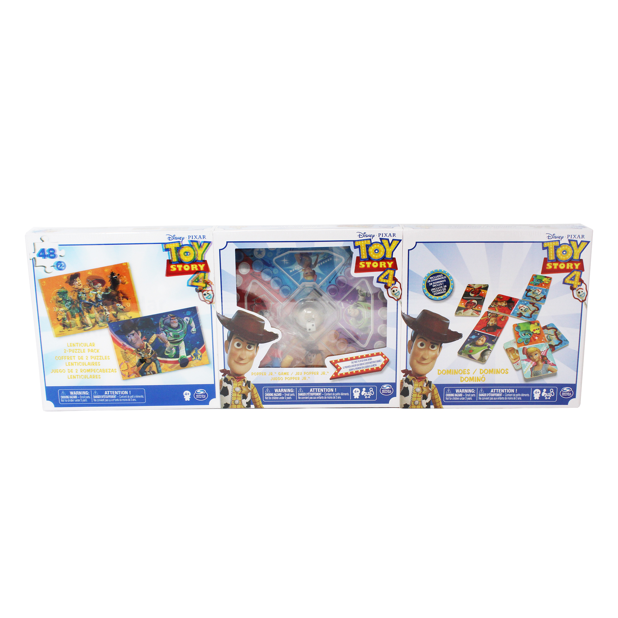 Toy Story 4 3 Pack Bundle