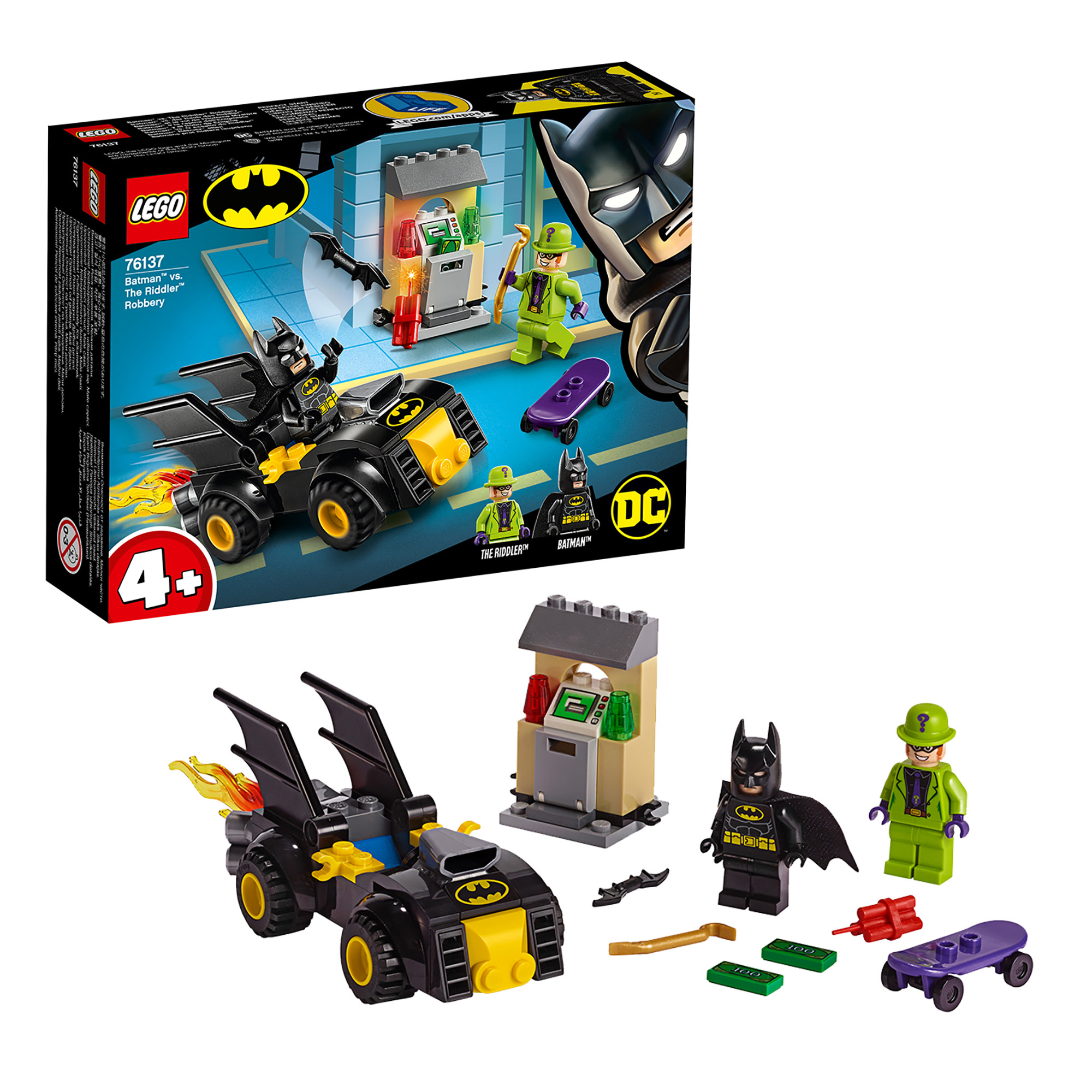 LEGO Super Heroes Batman Vs. The Riddler  Robbery