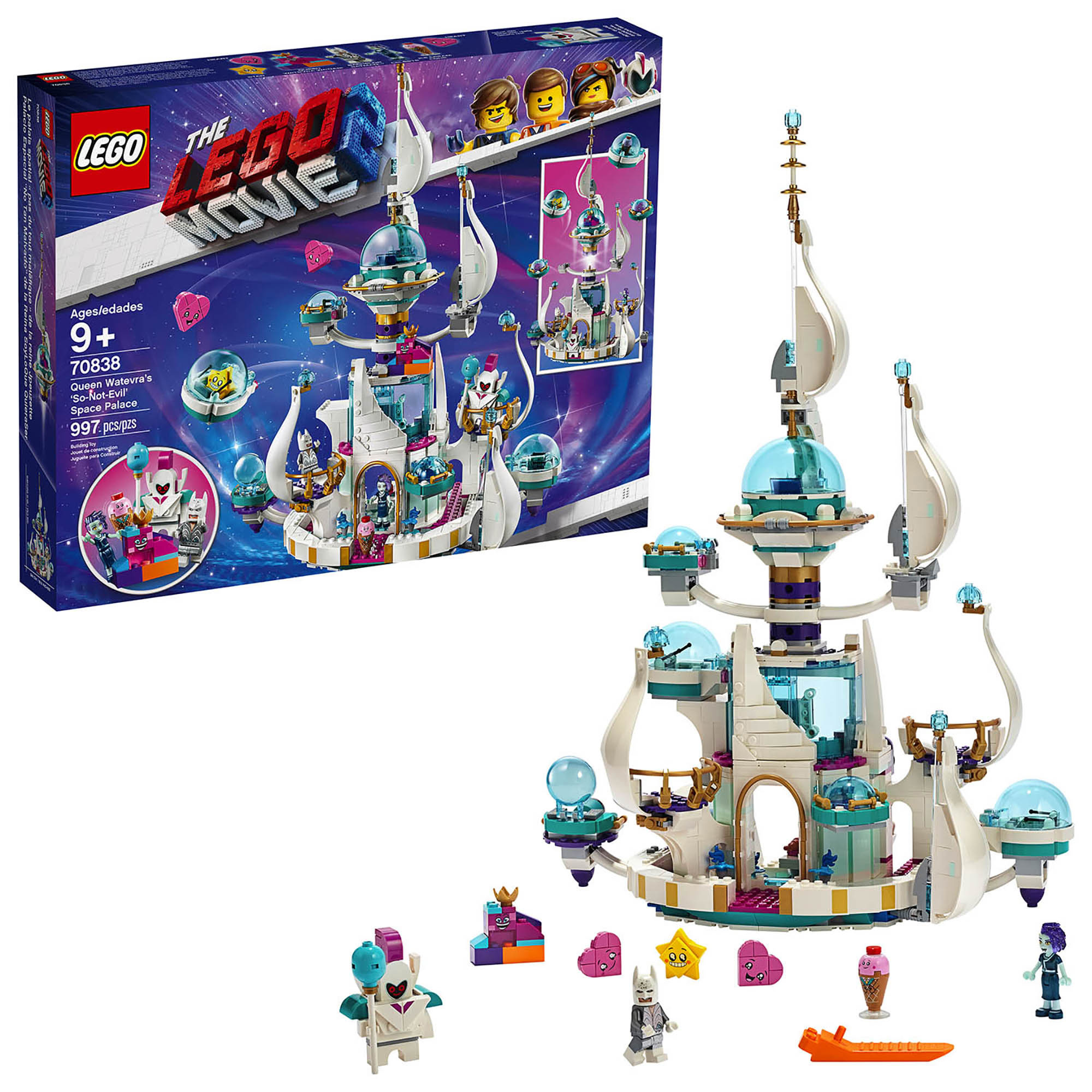 LEGO Movie Queen Watevra's 'So-Not-Evil' Space Pala