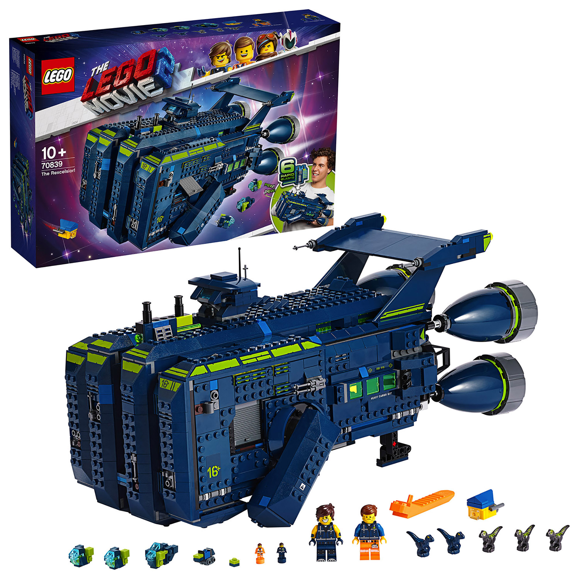 LEGO Movie The Rexcelsior!