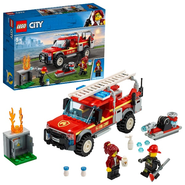 City Town Fire Chief Response Truck