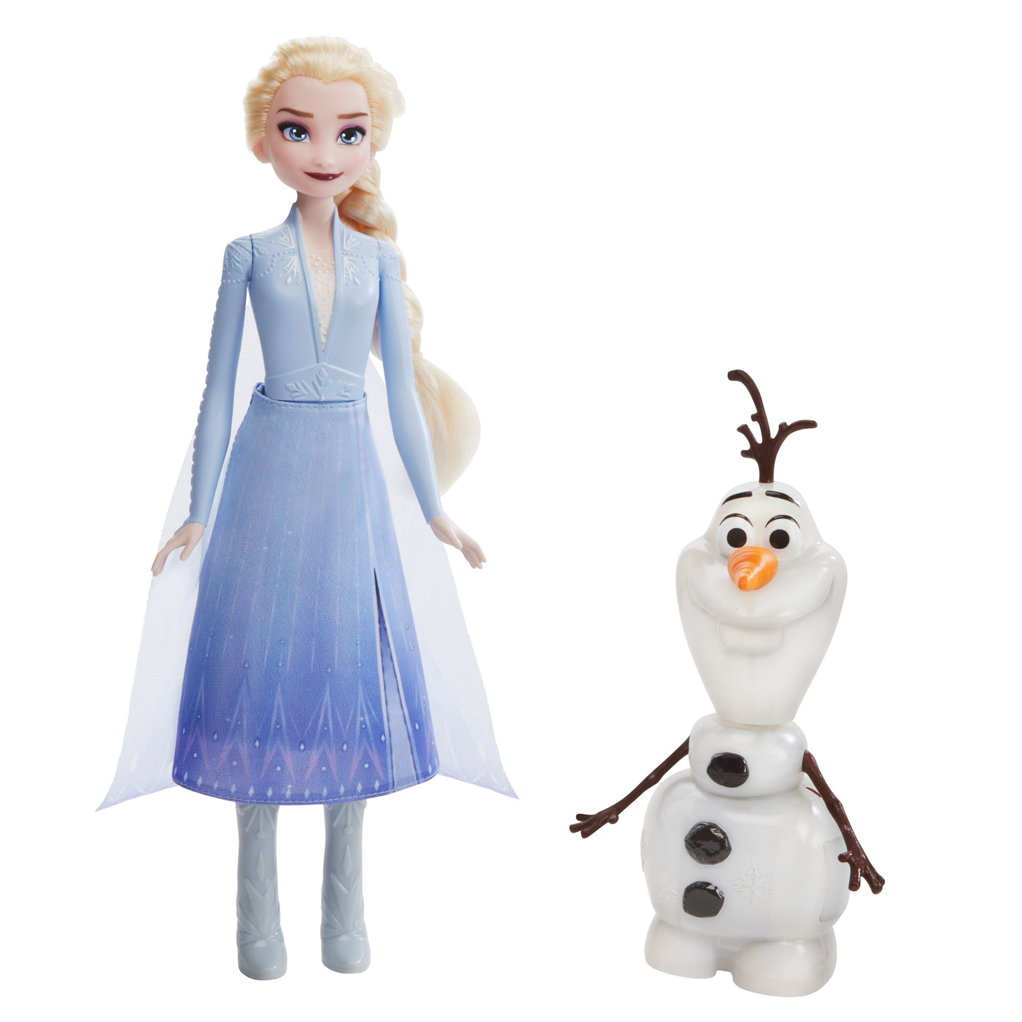 Talk and Glow Olaf and Elsa Dolls