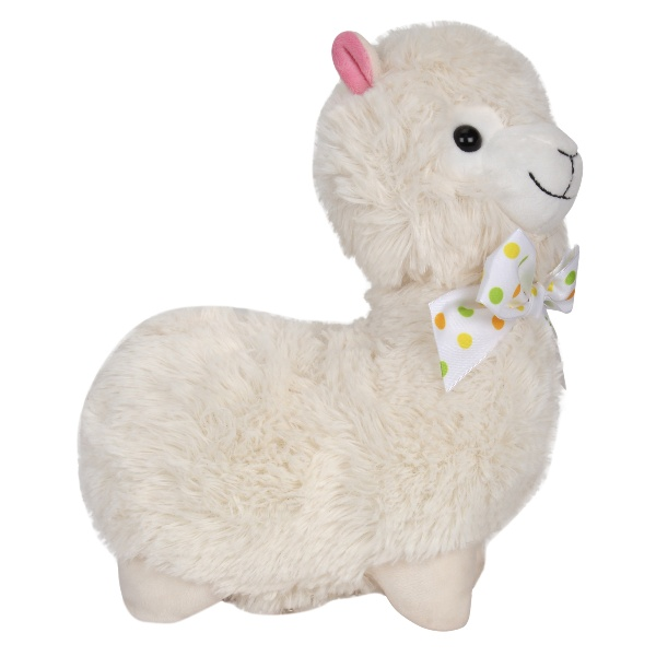 Llama Stuffed Plush Toy - Cream - 28 cm
