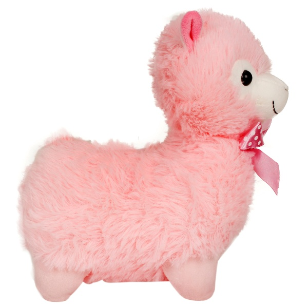 Llama Stuffed Plush Toy - Pink - 28 cm