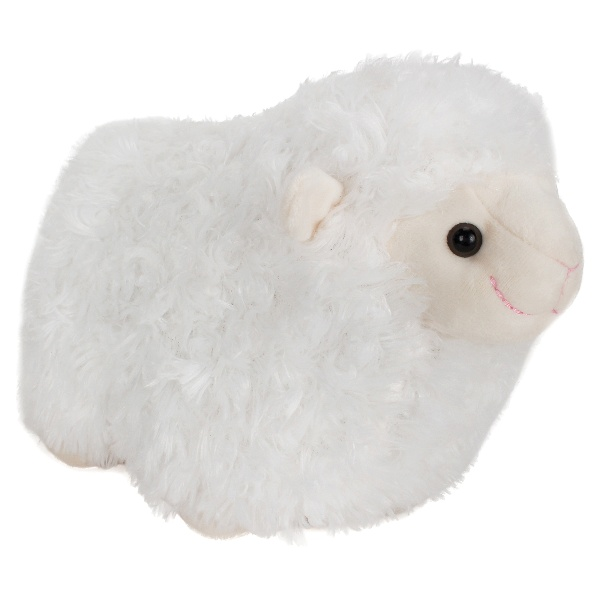 White Lamb Stuffed Animal - 28 cm