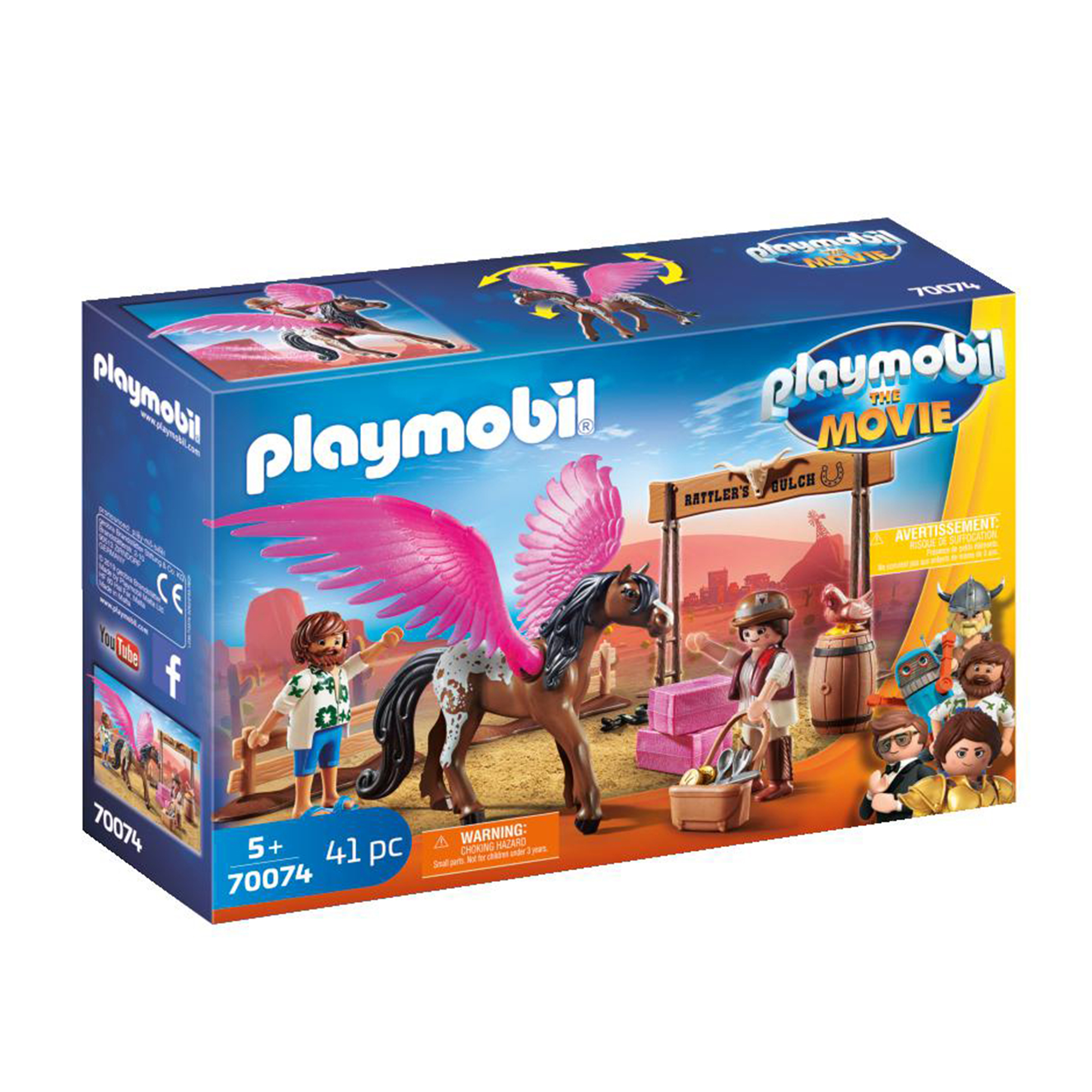Playmobil 70073 Playmobil: THE MOVIE Charlie with Prison Wagon
