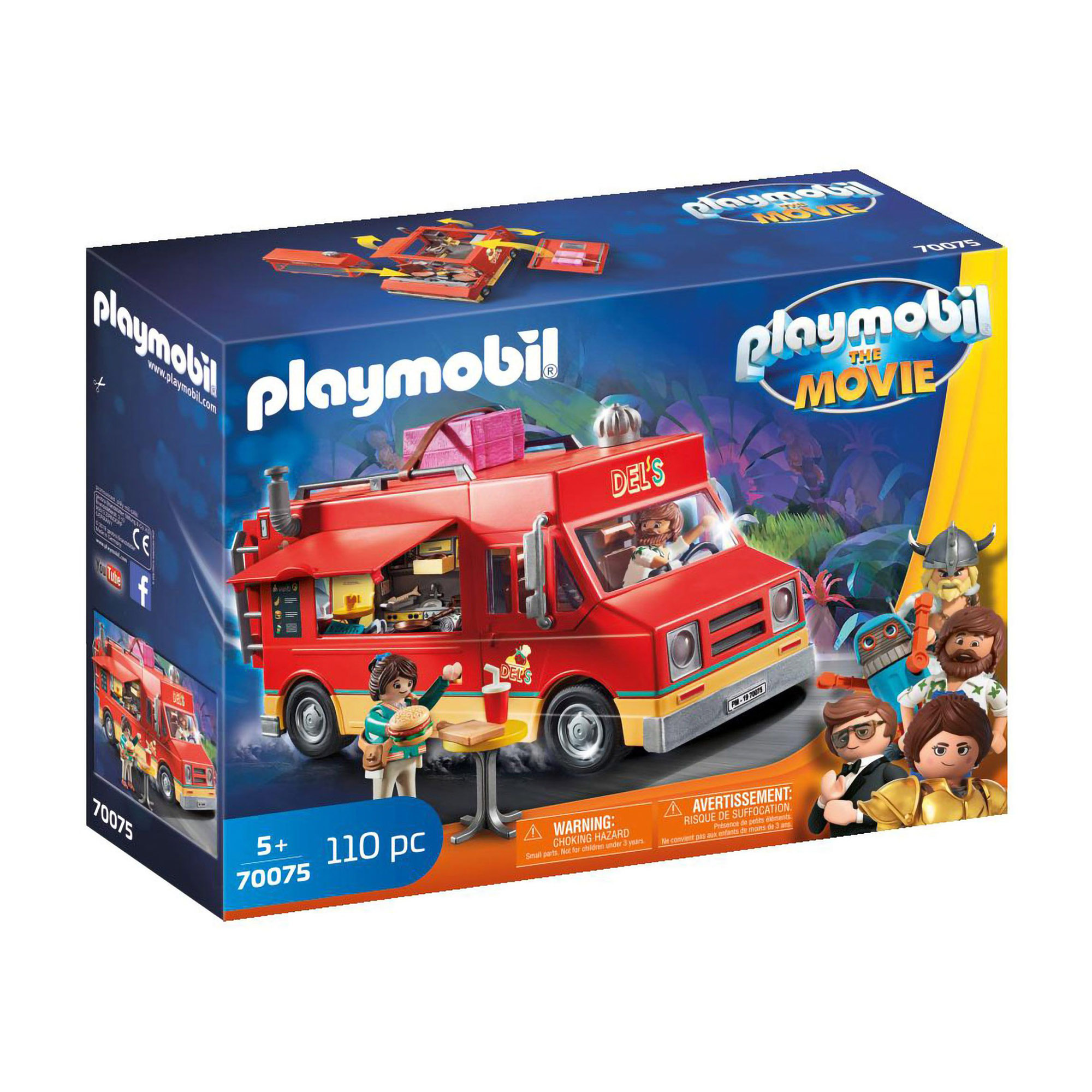 Playmobil 70075 Playmobil: THE MOVIE Dels Food Truck