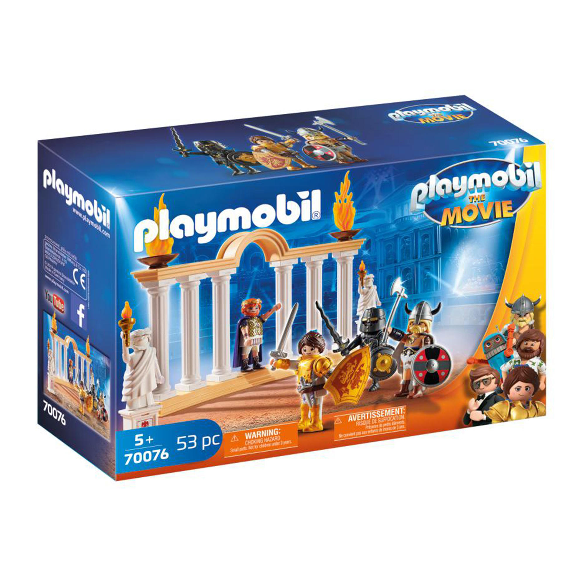 Playmobil 70076 Playmobil: THE MOVIE Emperor Maximus in the Colosseum