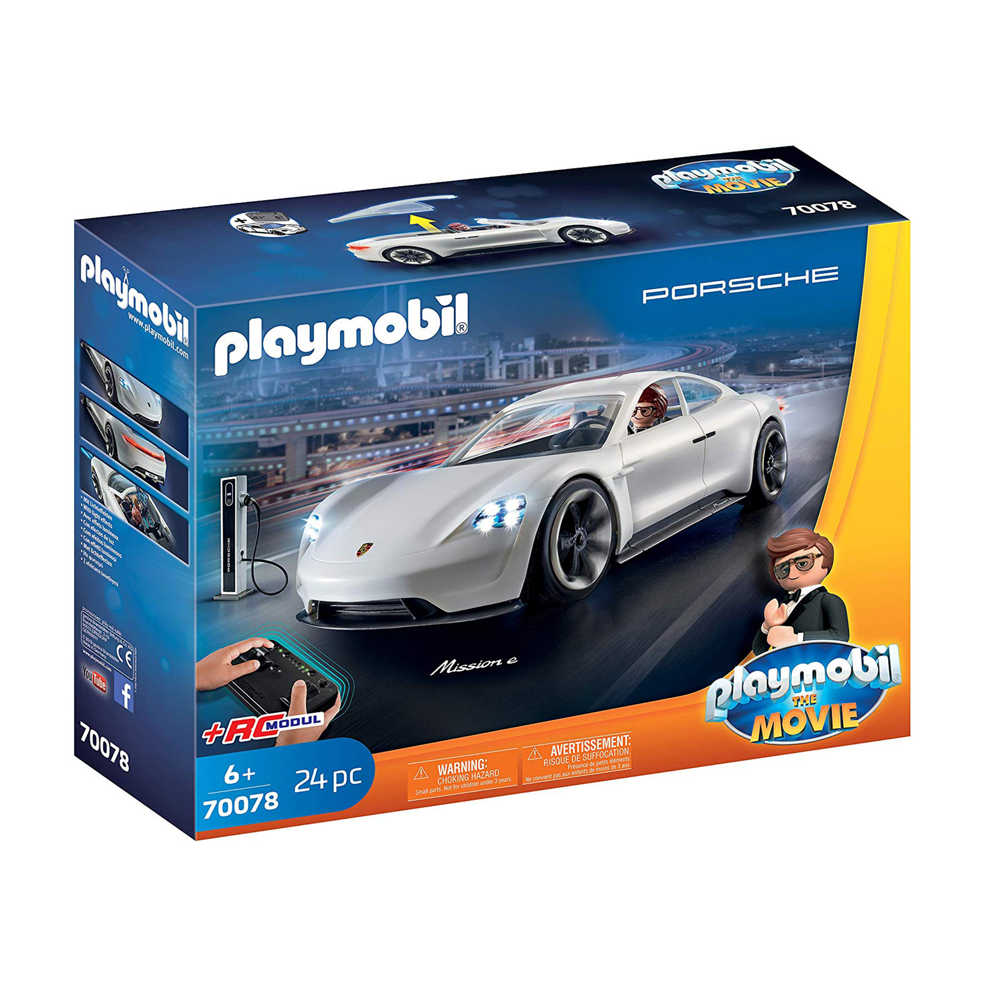 Playmobil 70078 Playmobil: THE MOVIE Rex Dashers Porsche Mission E