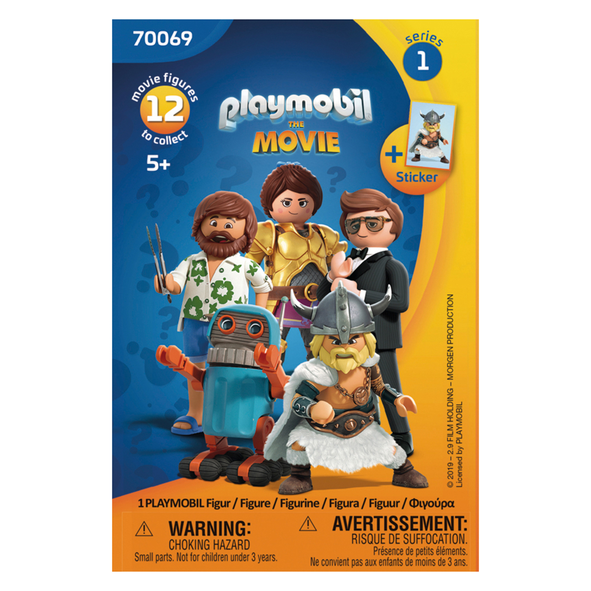 Playmobil 70069 Playmobil: THE MOVIE Figure Blind Bag Series 1 Assortment