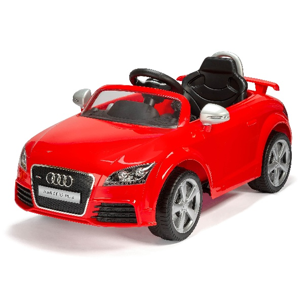 Audi Tt Electric Ride On Red 6v