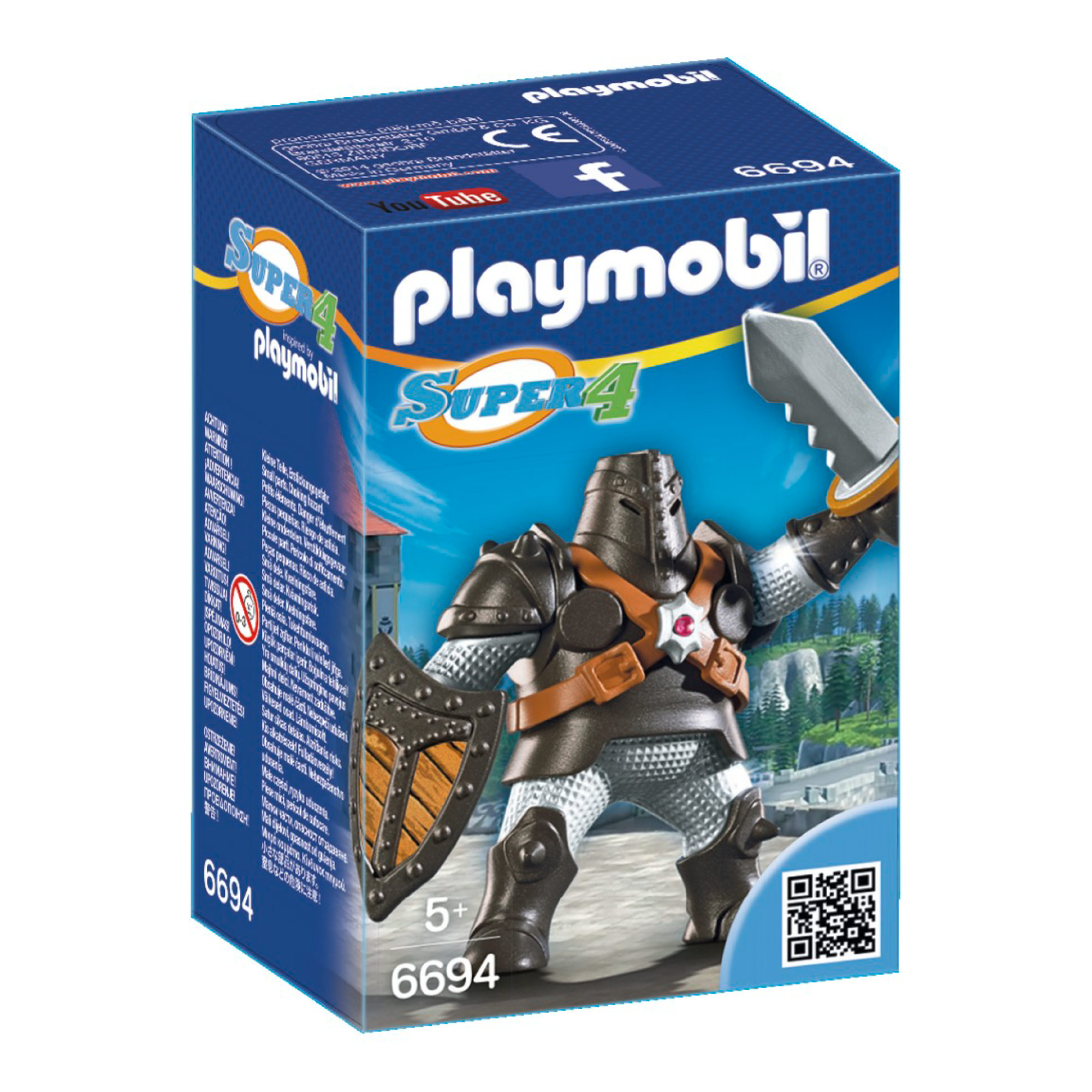 Playmobil Super 4 Black Colossus 6694