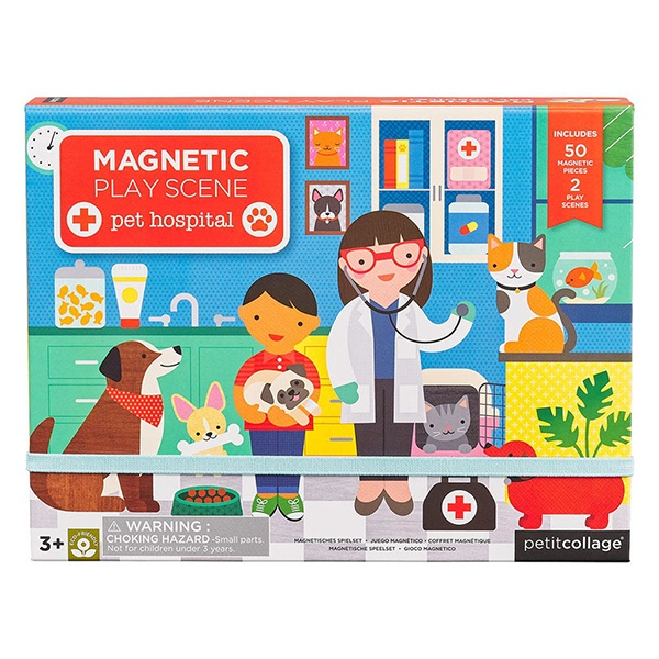 Magnetic Play Set - Pet Hospital