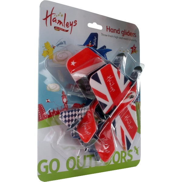 Hamleys Union Jack Hand Gliders 2 Pack