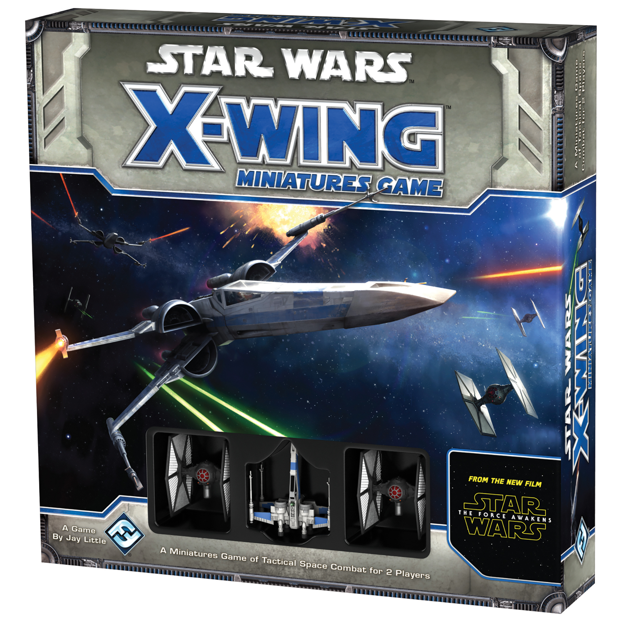 Star Wars Force Awakens X-Wing Game