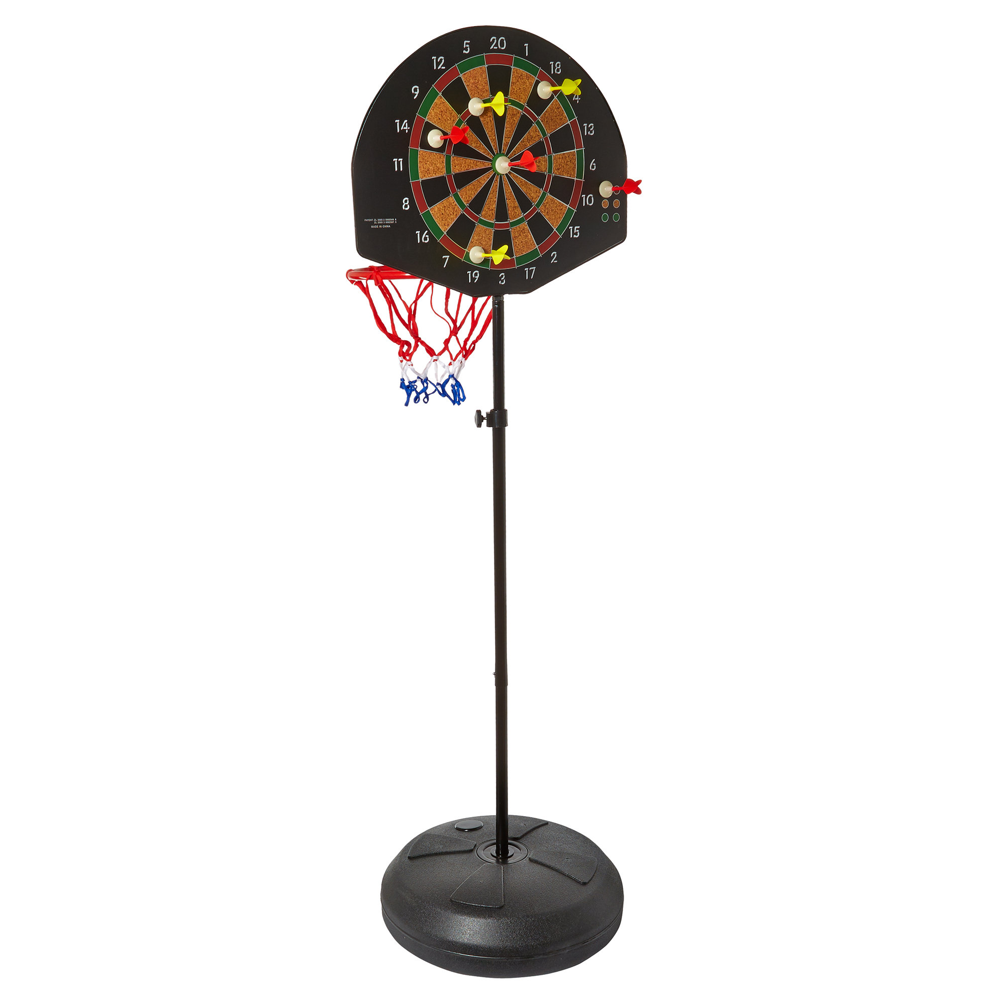 Moov'ngo 2 In 1 Basketball Dartboard Set