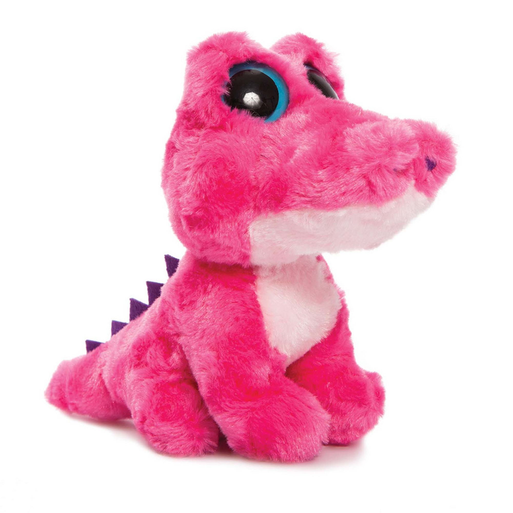 Yoohoo & Friends Hot Pink Smilee Alligator 5