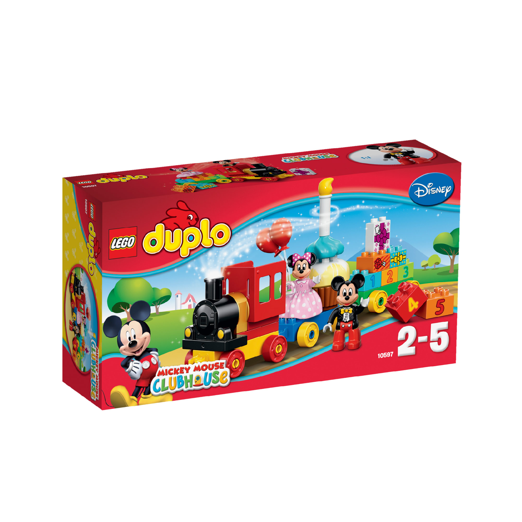 LEGO DUPLO Disney Mickey & Minnie's Birthday Parade 10597