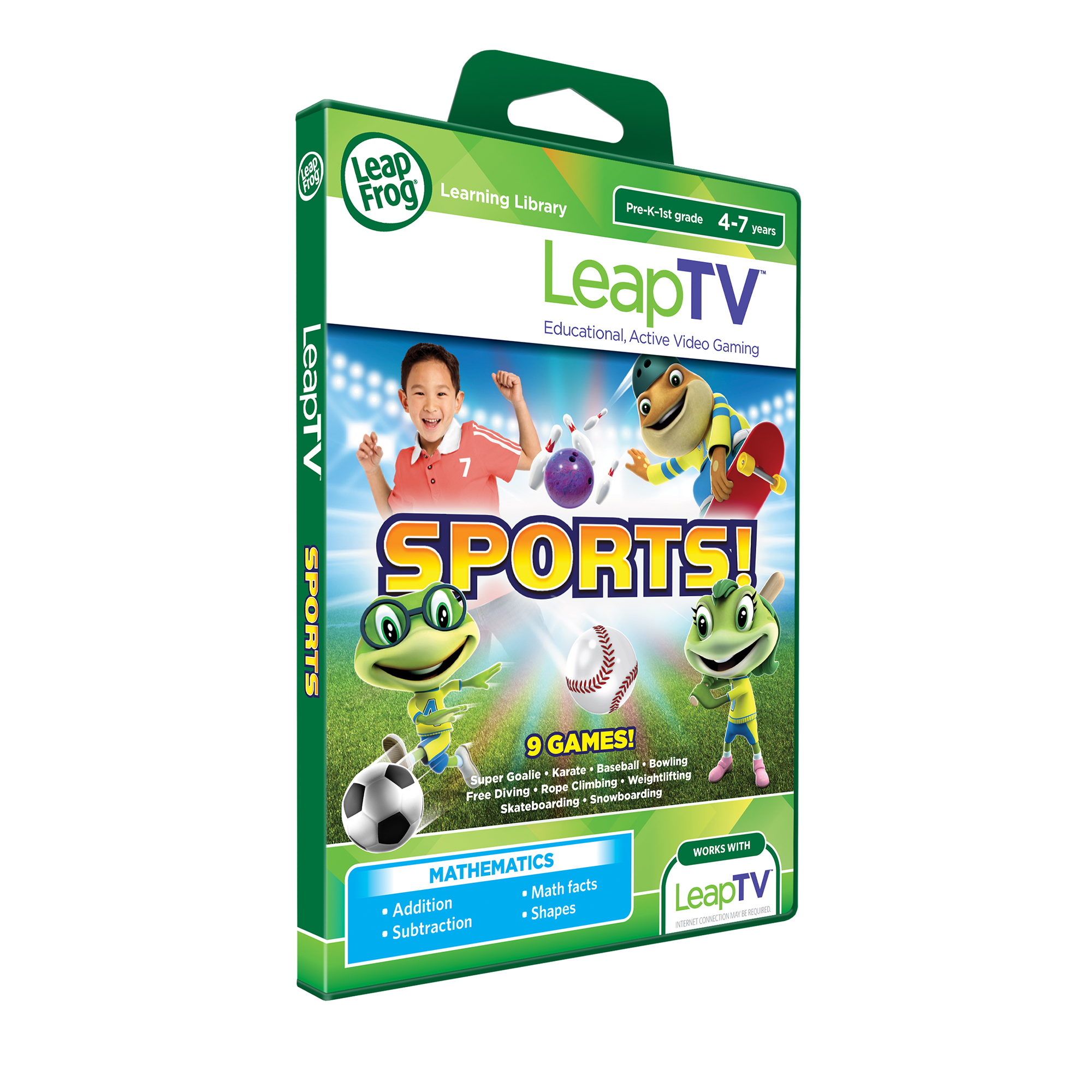 LeapFrog Sports LeapTV Software