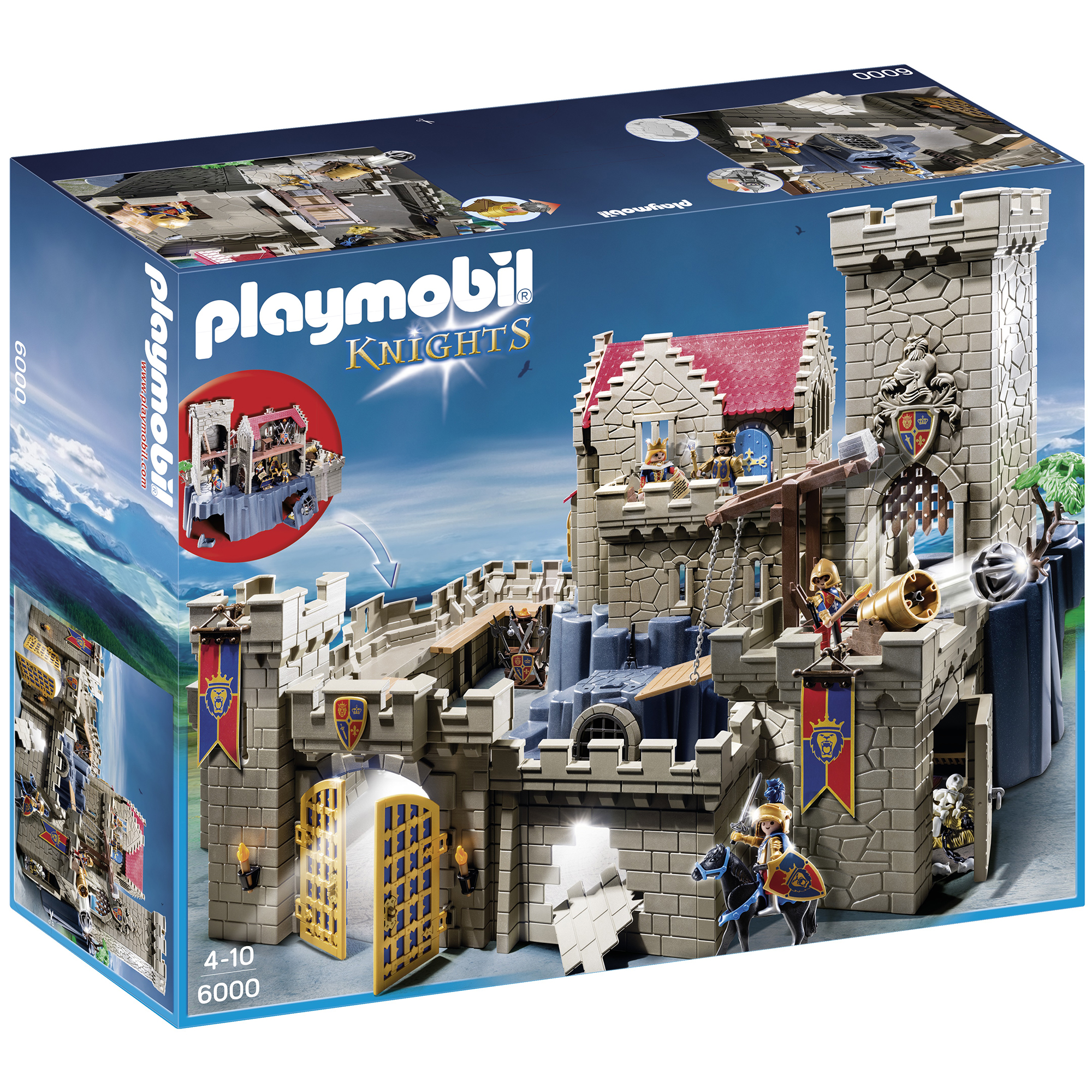 Playmobil Royal Lion Knight Castle 6000