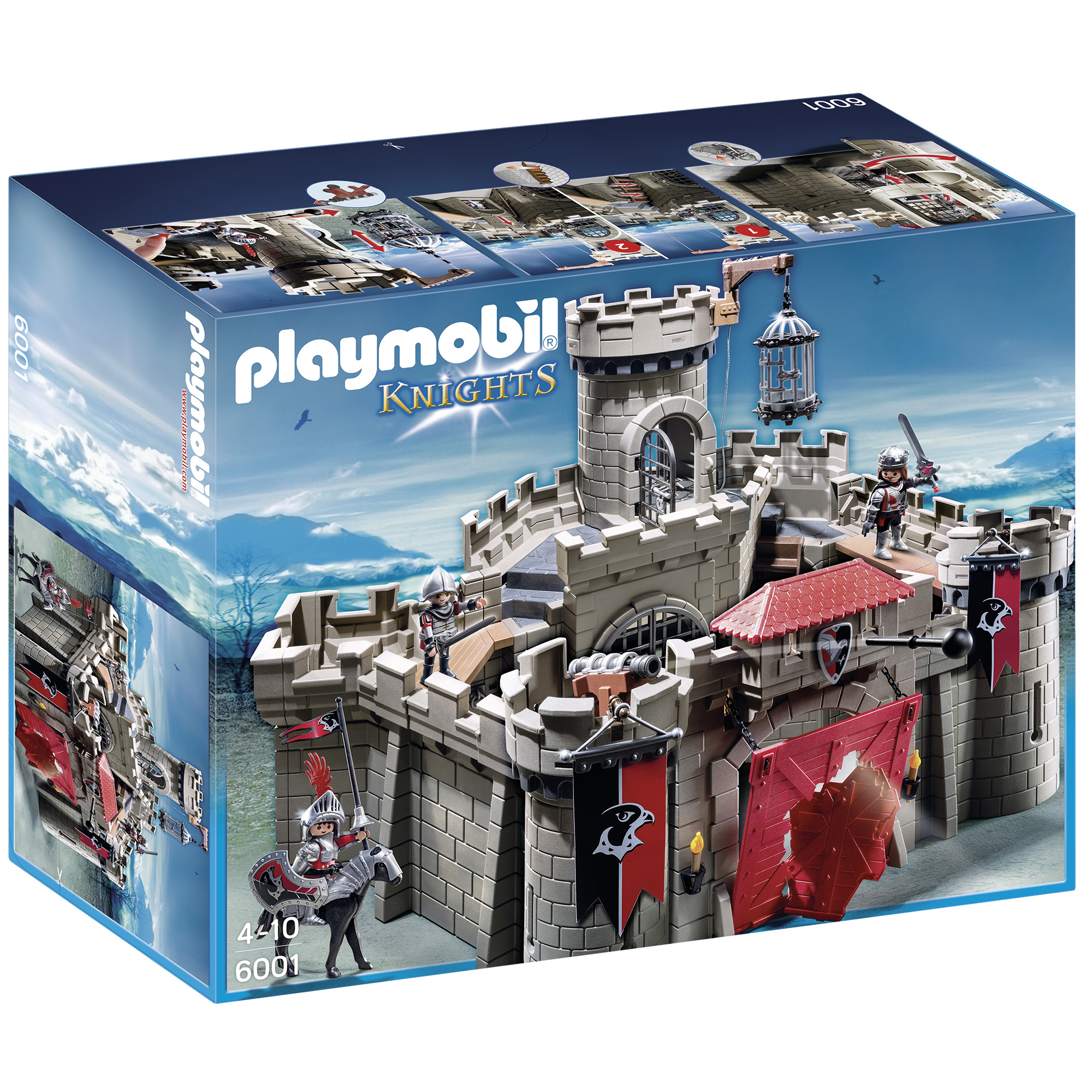 Playmobil Hawk Knight Castle 6001