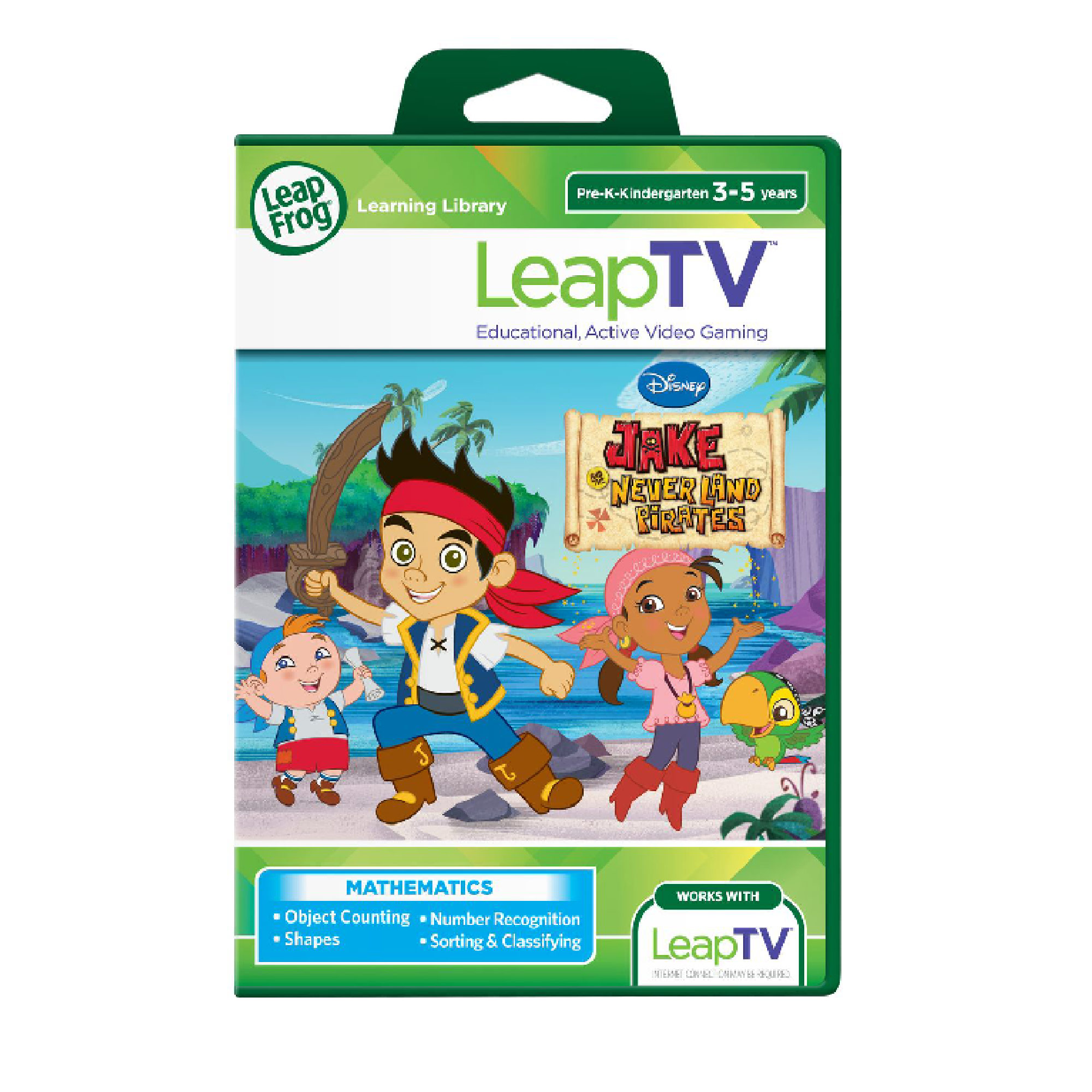 LeapFrog Disney Jake & The Neverland Pirates LeapTV Software
