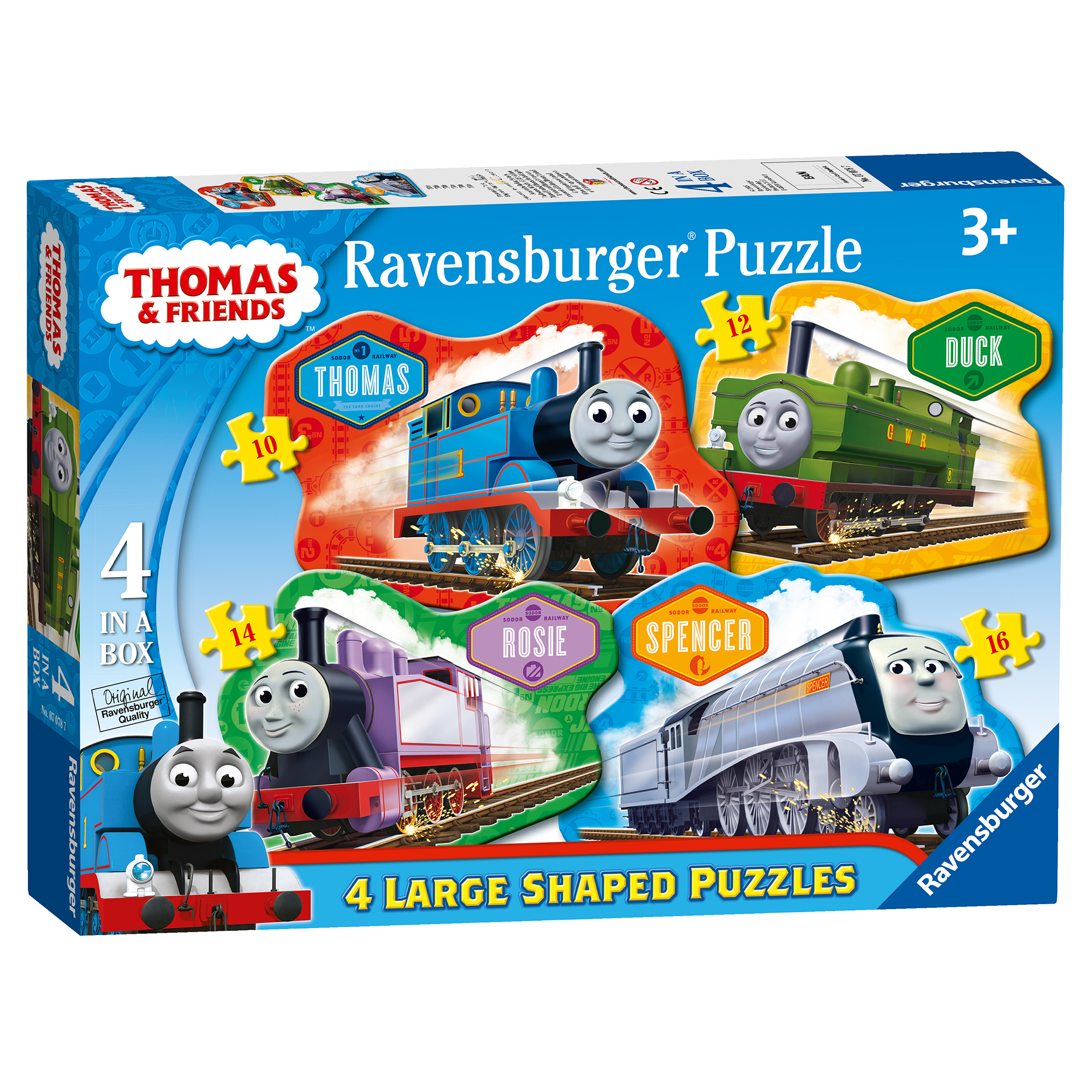 Ravensburger Thomas & Friends 4 Shaped Puzzles