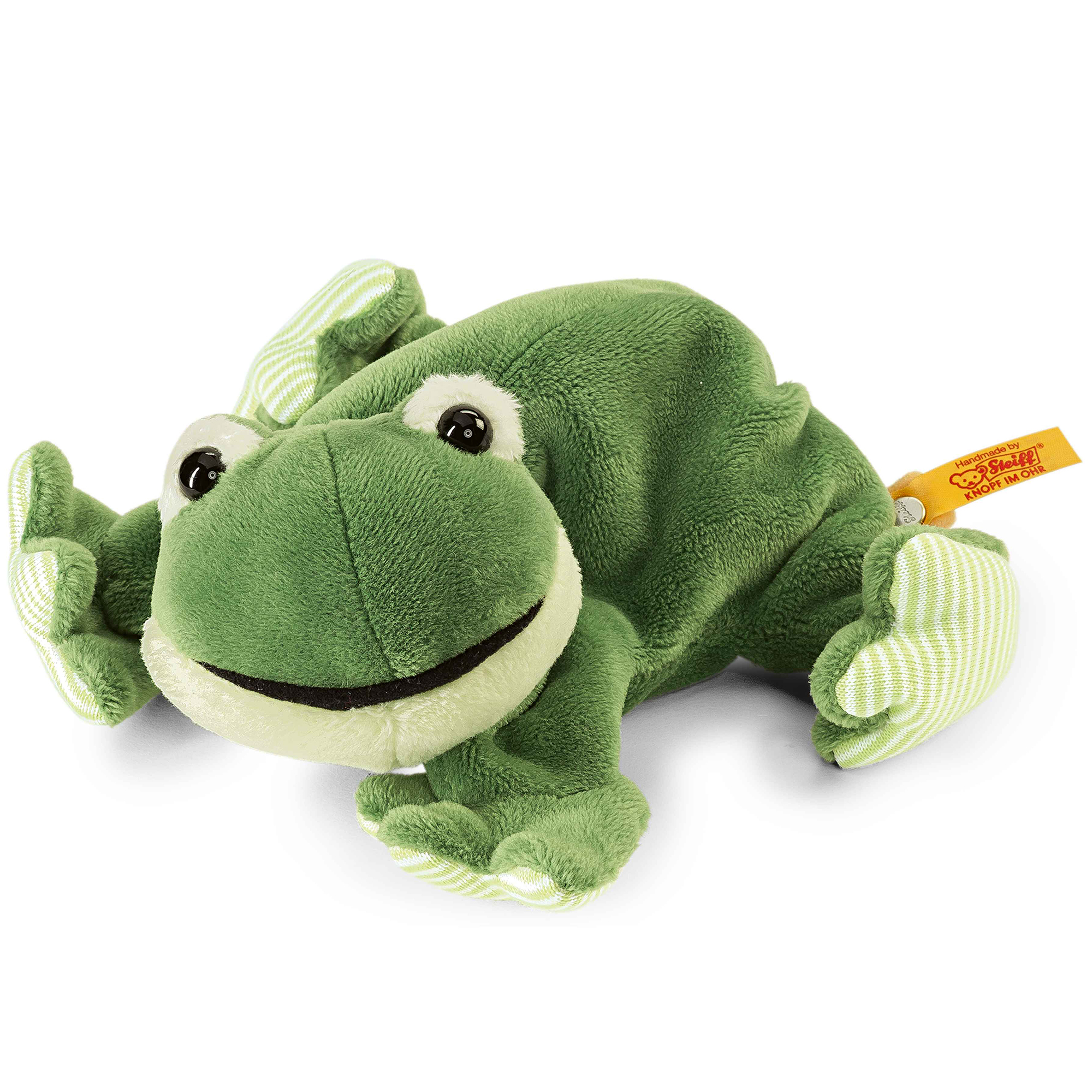 Steiff Cheeky Cappy Frog Soft Toy