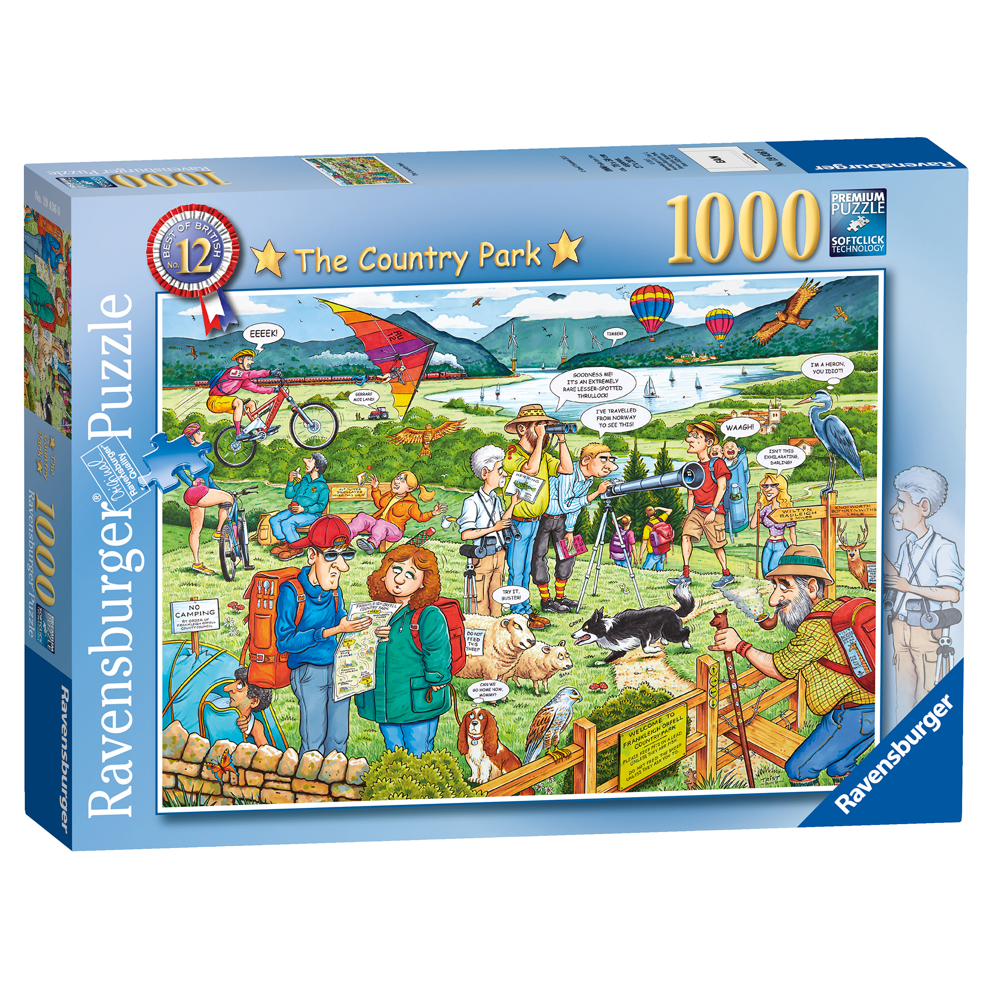 Ravensburger Best Of British The Country Park 1000 Piece Puzzle